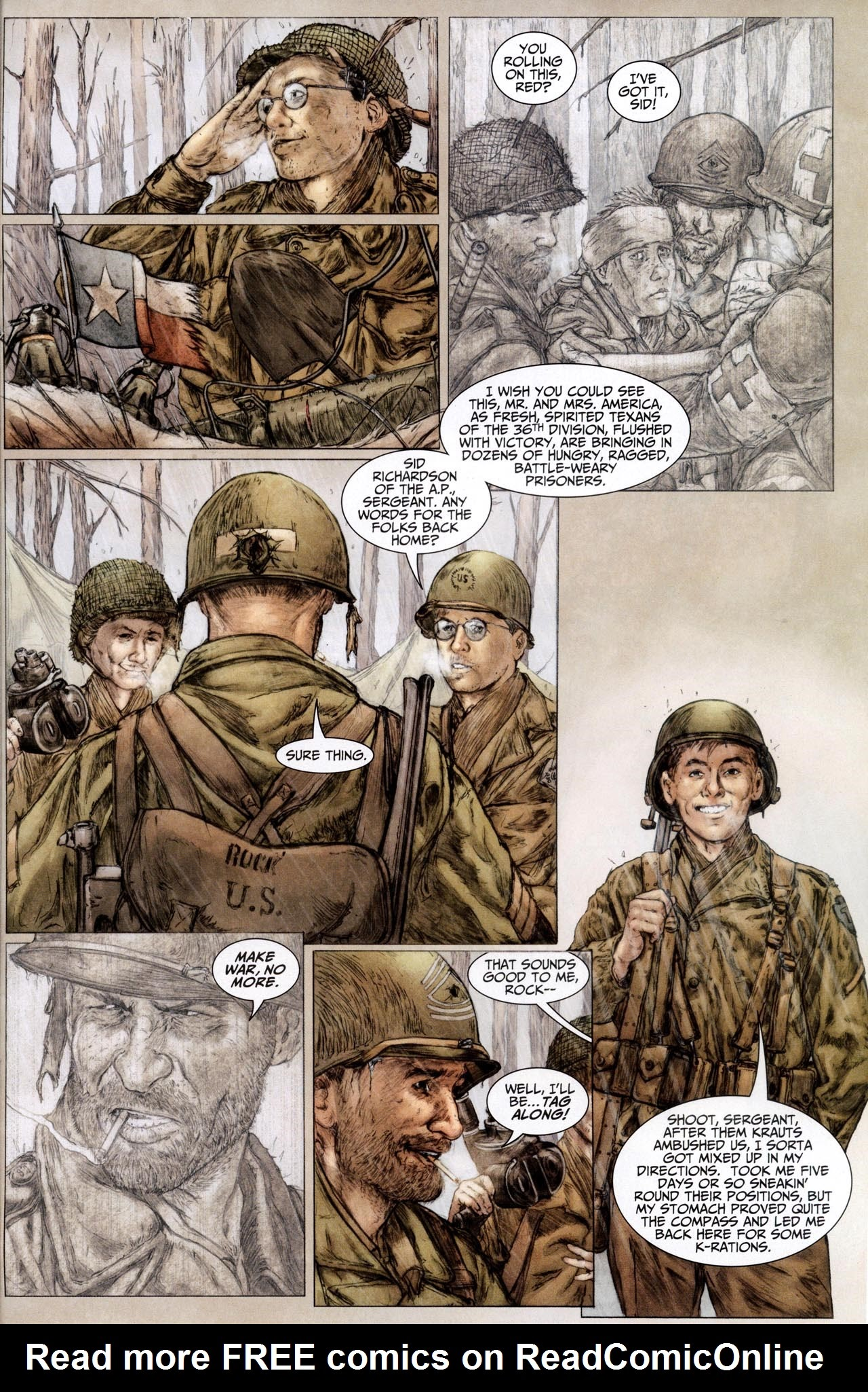 Read online Sgt. Rock: The Lost Battalion comic -  Issue #6 - 15