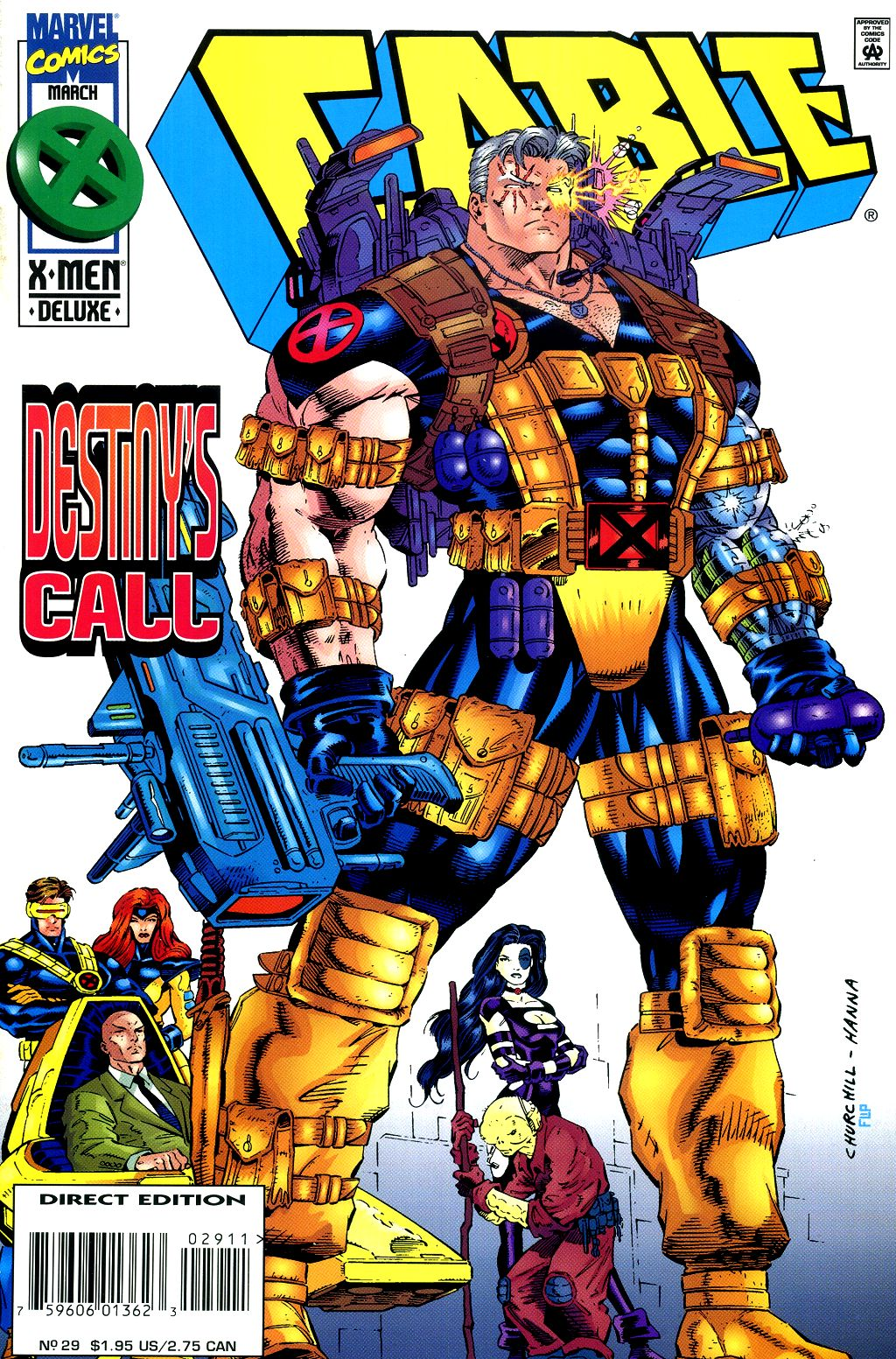 Cable (1993) 29 Page 1