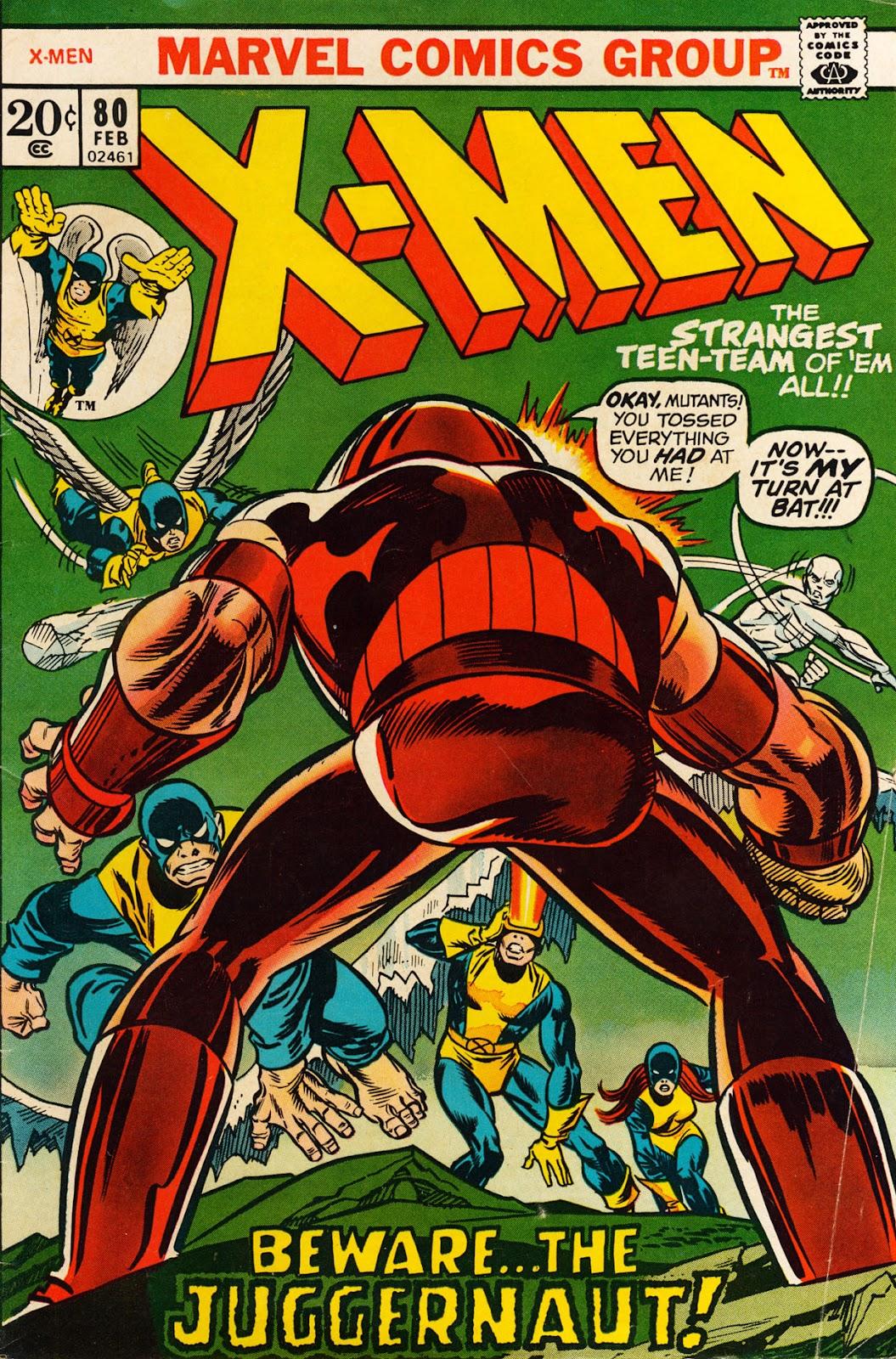Uncanny X-Men (1963) issue 80 - Page 1