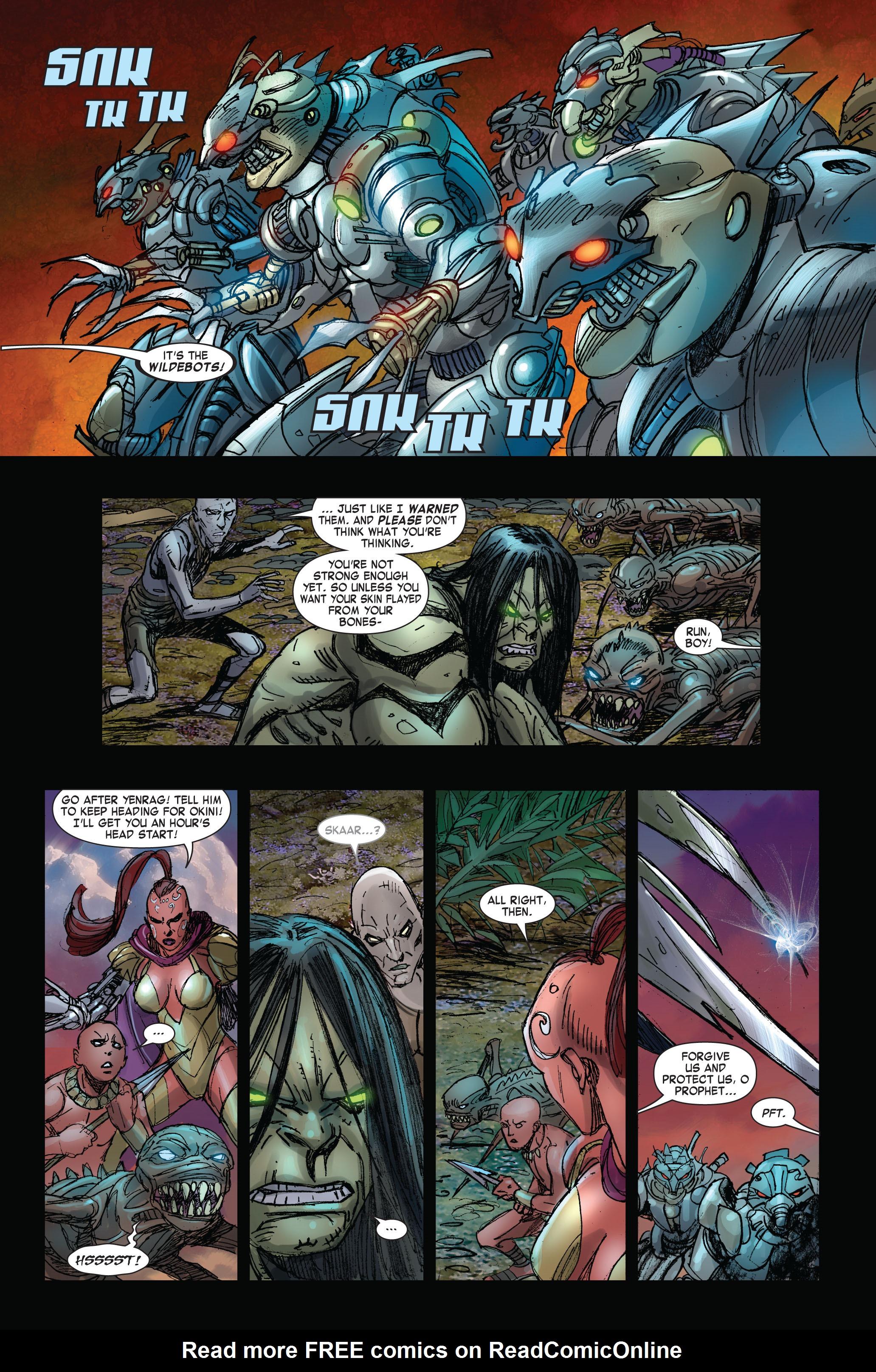 Read online Skaar: Son of Hulk comic -  Issue #3 - 12