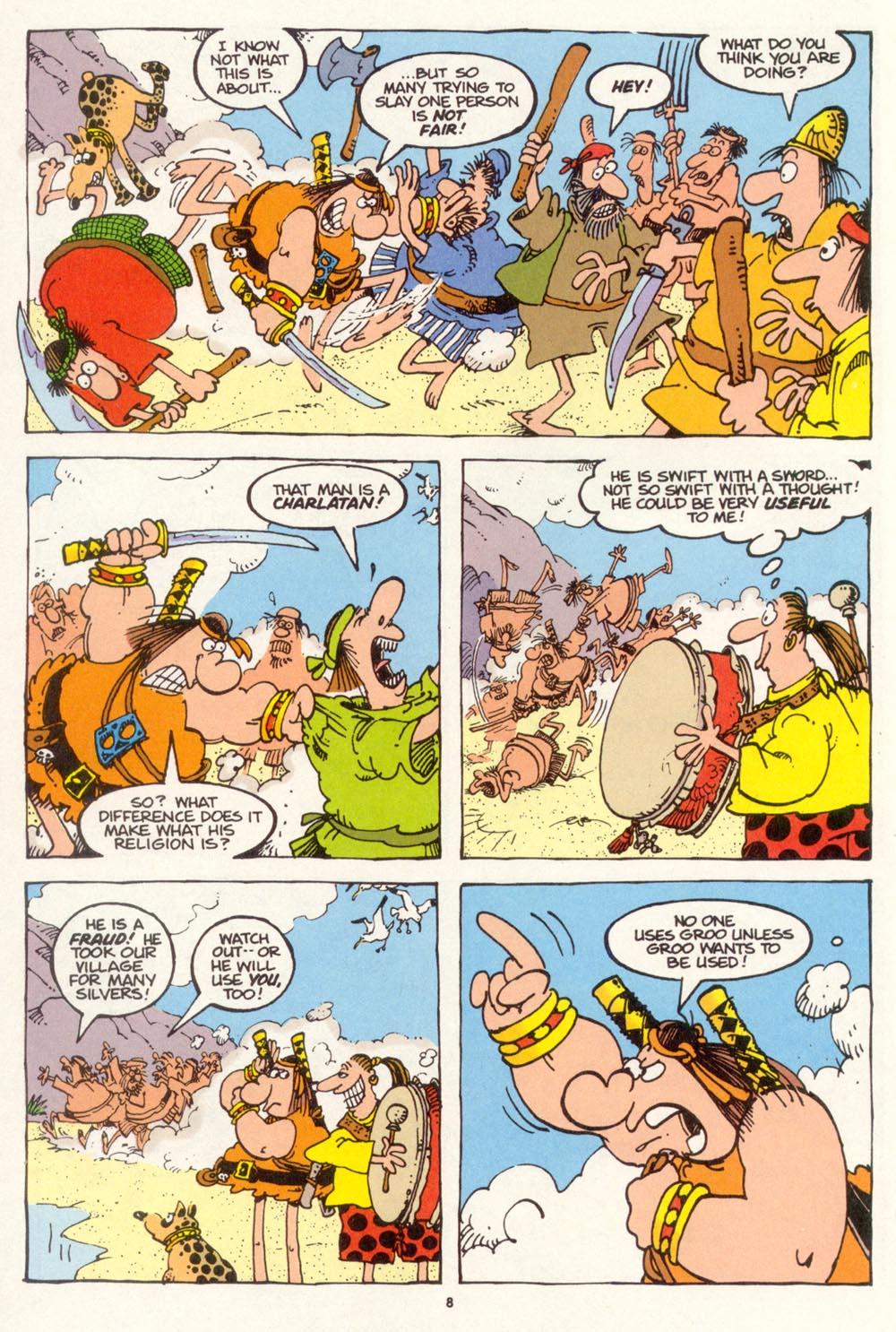 Read online Sergio Aragonés Groo the Wanderer comic -  Issue #113 - 10