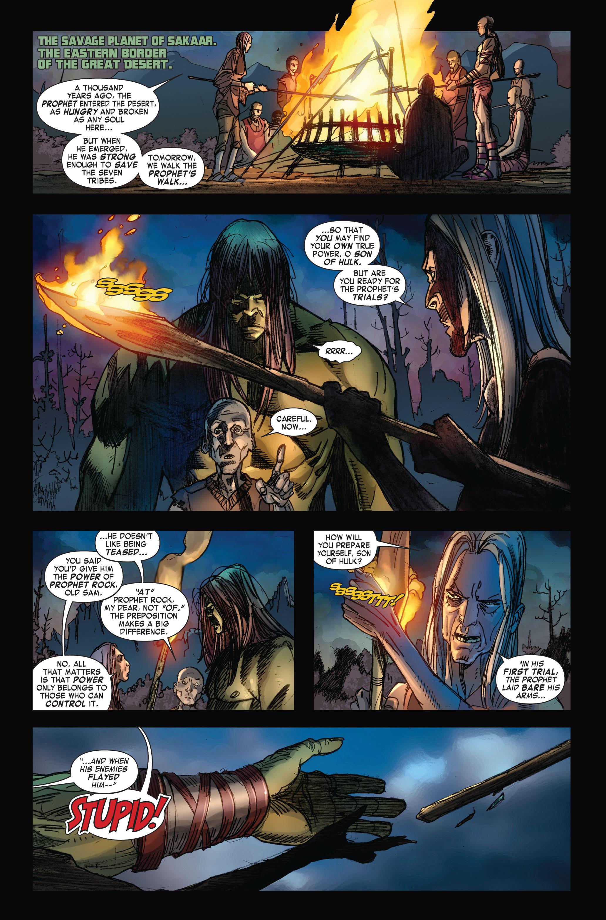 Read online Skaar: Son of Hulk comic -  Issue #4 - 2