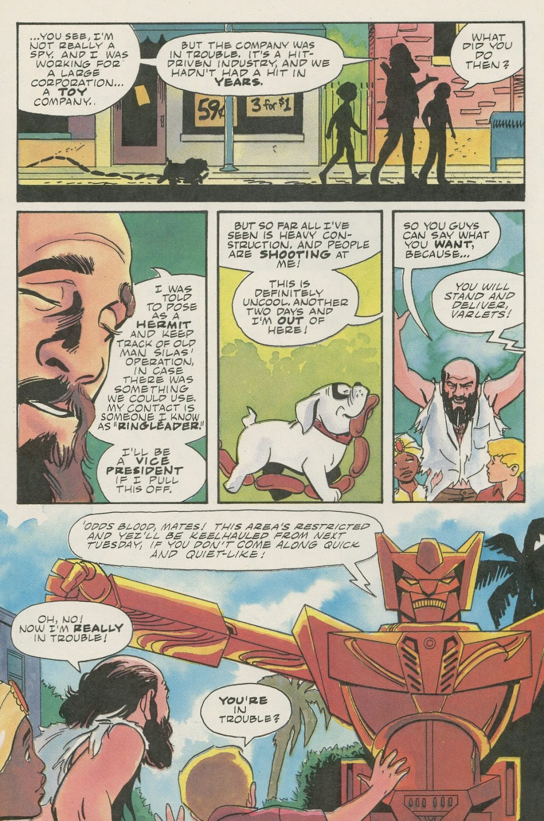 Jonny Quest (1986) issue 17 - Page 22
