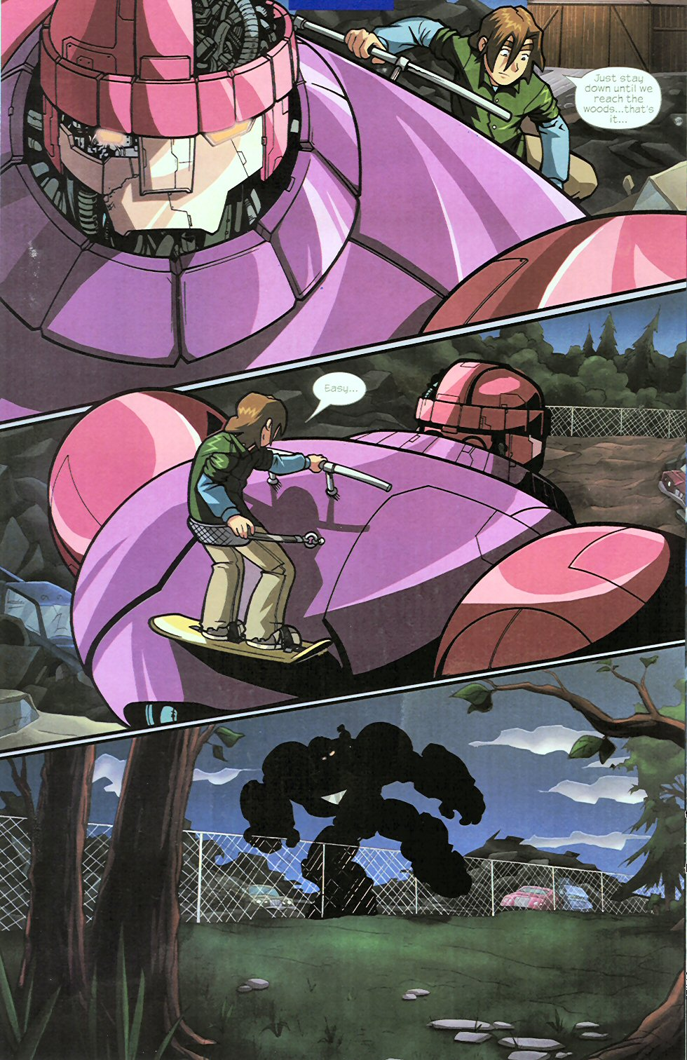 Read online Sentinel comic -  Issue #4 - 15