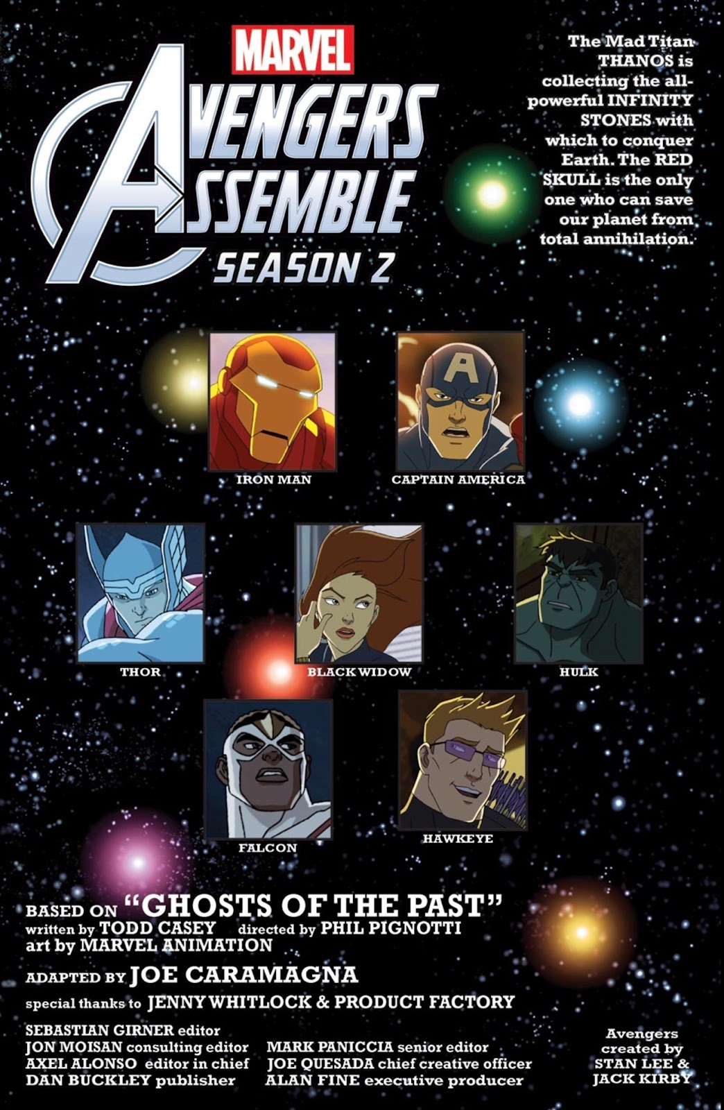 Read online Marvel Universe Avengers Assemble Season 2 comic -  Issue #4 - 2