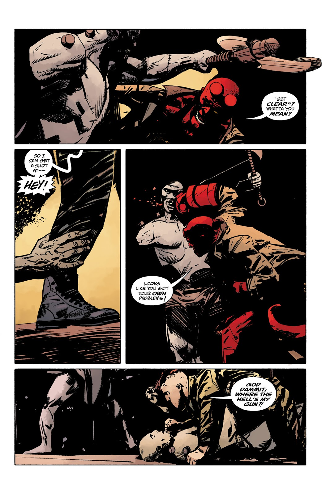 Read online Hellboy and the B.P.R.D. comic -  Issue # _TPB - 88