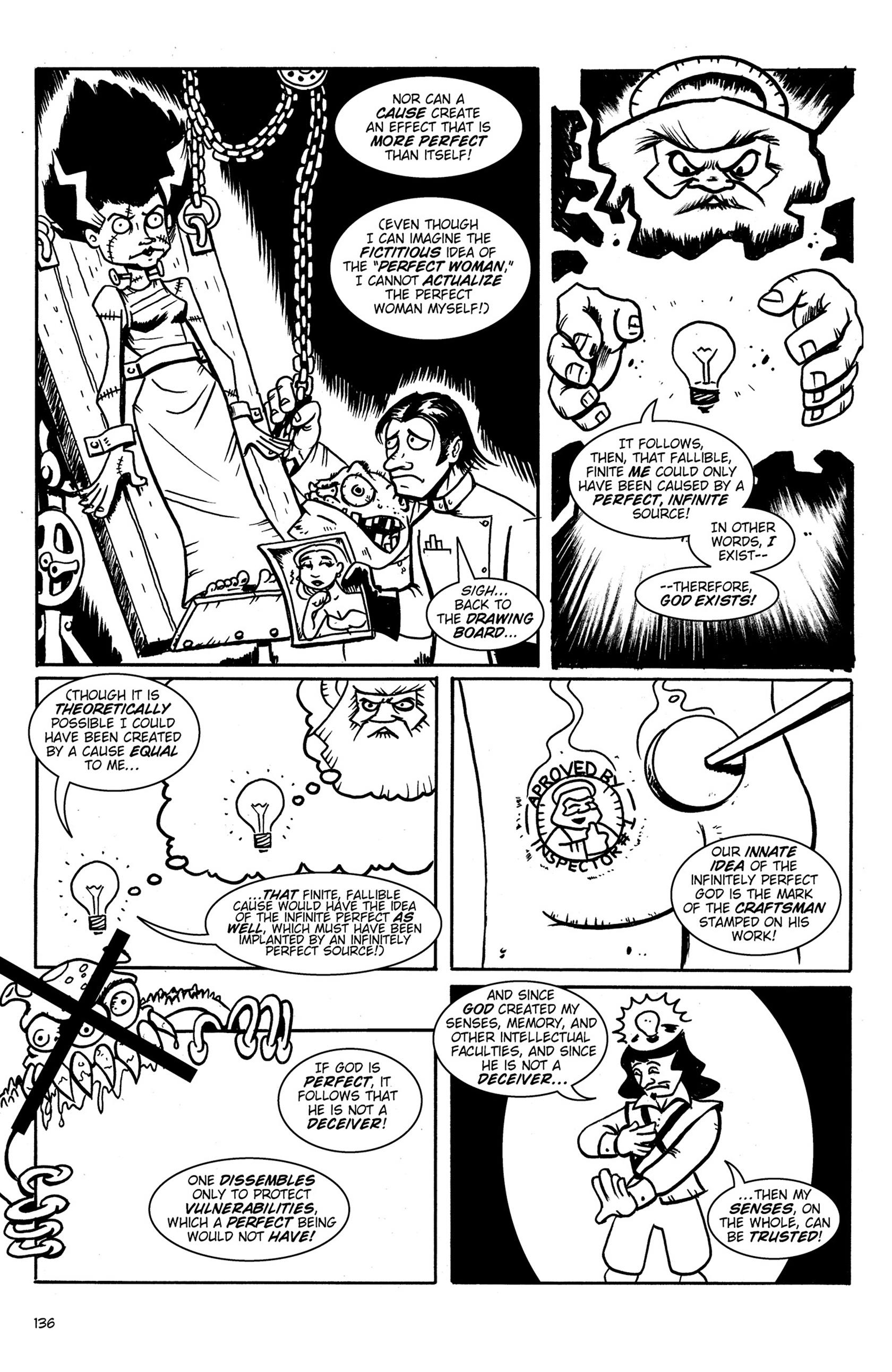Read online Action Philosophers! comic -  Issue #Action Philosophers! TPB (Part 1) - 135