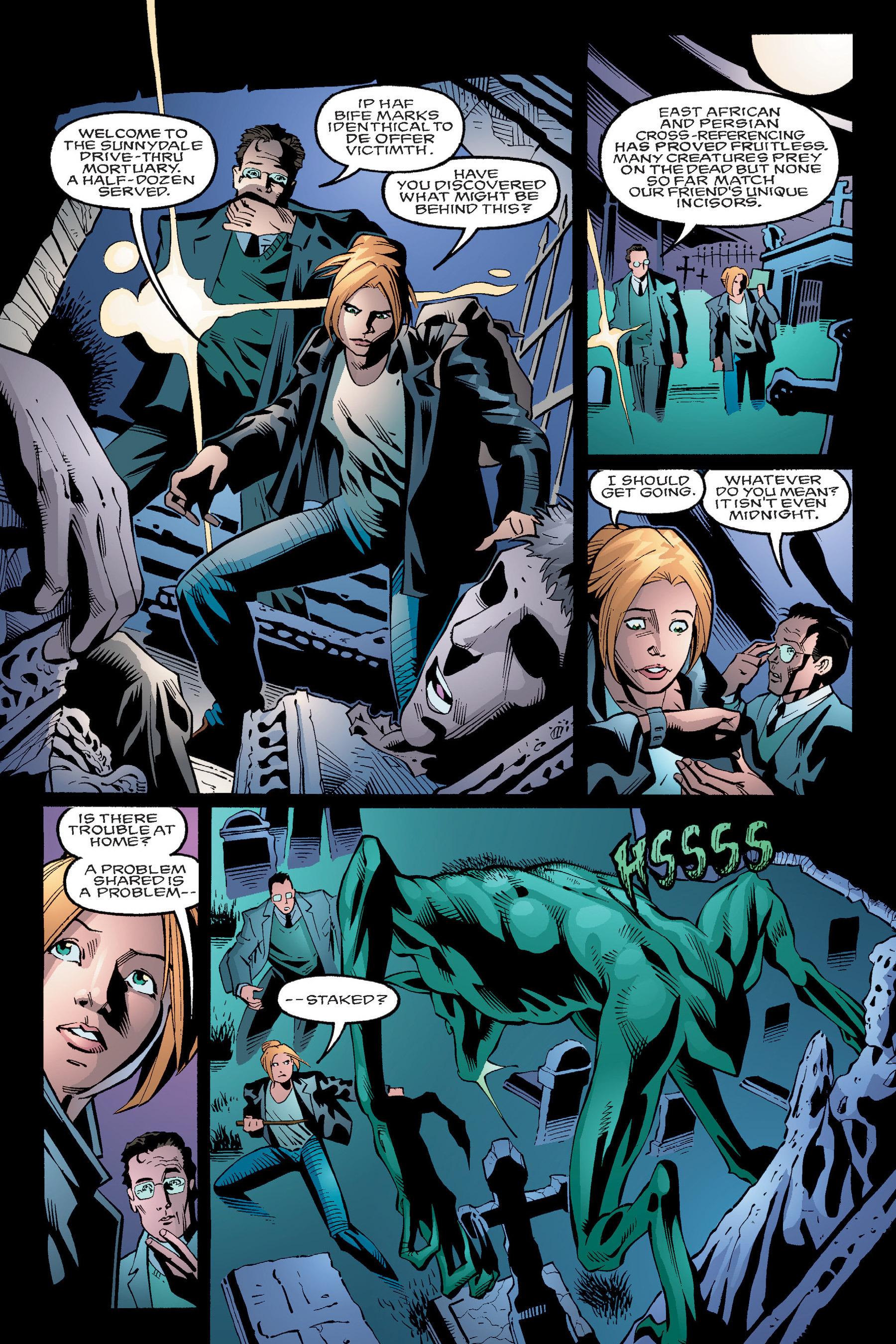 Read online Buffy the Vampire Slayer: Omnibus comic -  Issue # TPB 4 - 24