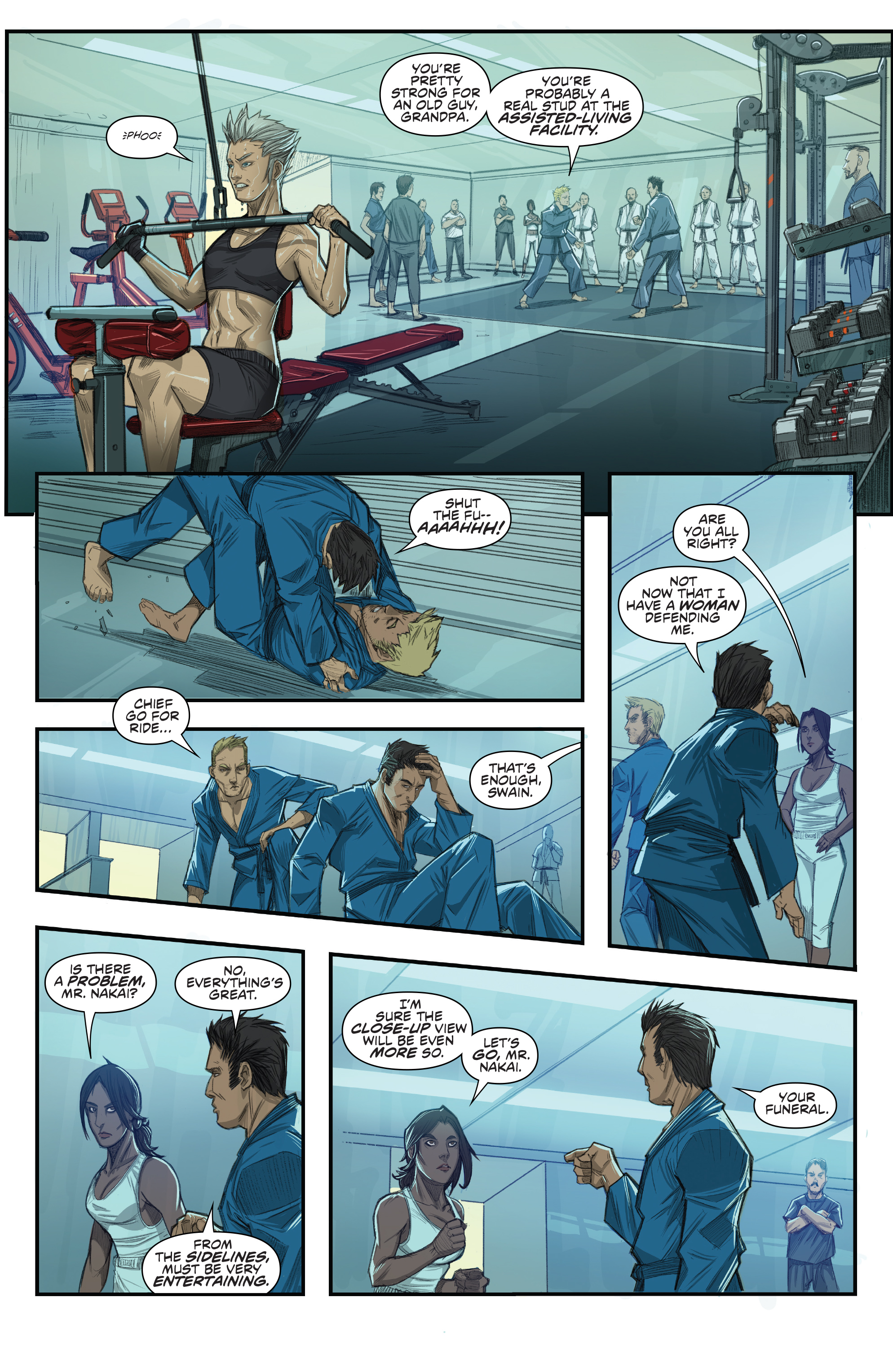 Read online Predator: Hunters comic -  Issue #2 - 18