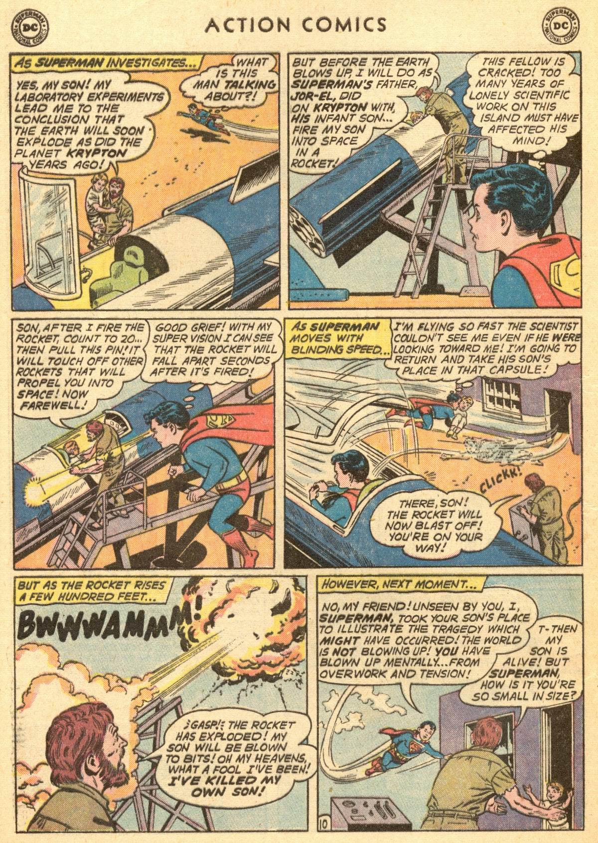 Read online Action Comics (1938) comic -  Issue #284 - 12