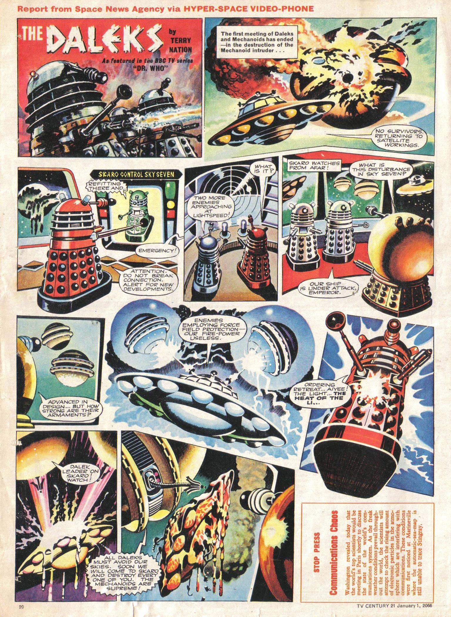 Read online TV Century 21 (TV 21) comic -  Issue #50 - 19