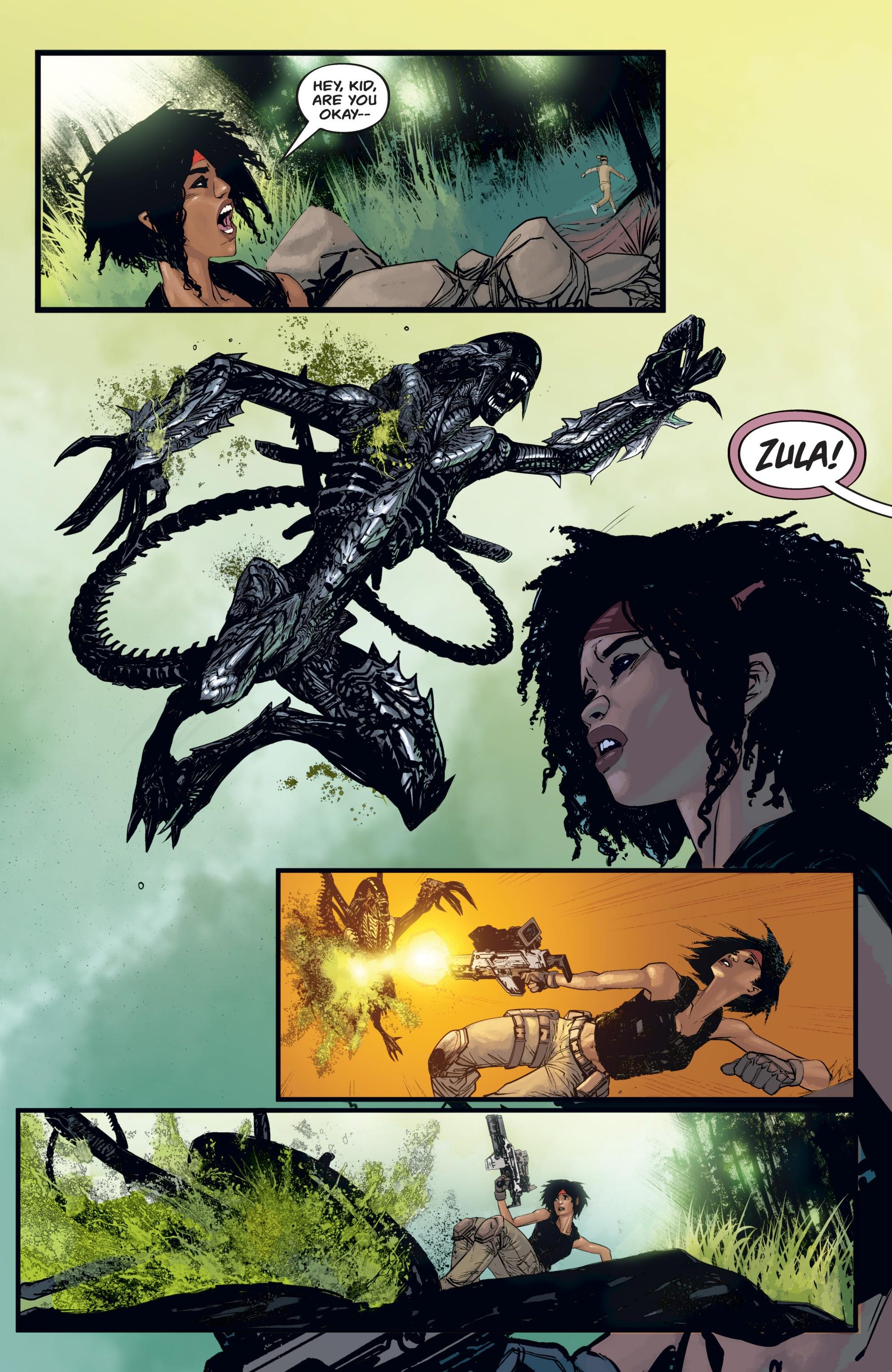 Read online Aliens: Resistance comic -  Issue # _TPB - 63