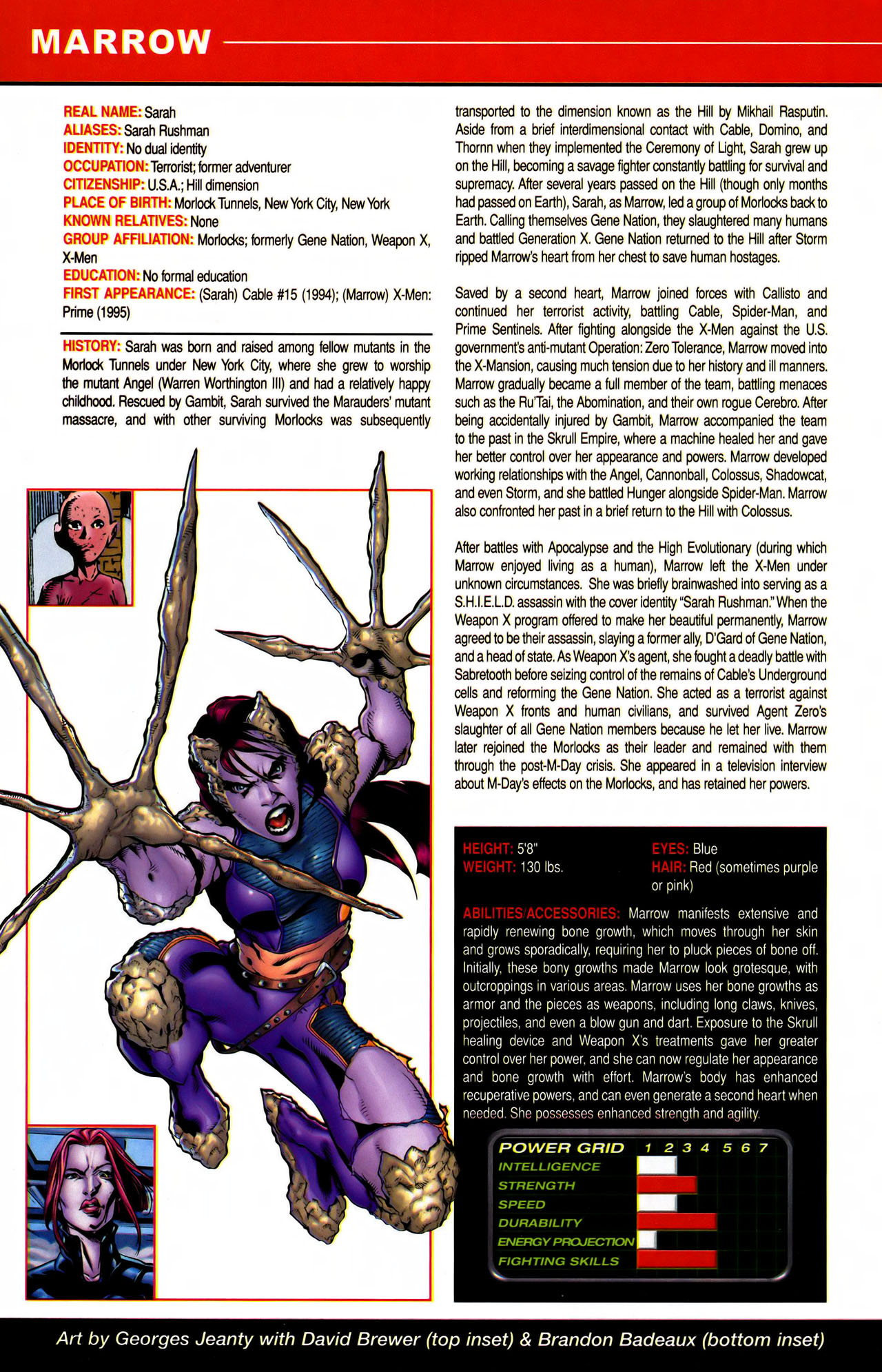 Read online All-New Official Handbook of the Marvel Universe A to Z comic -  Issue #7 - 12