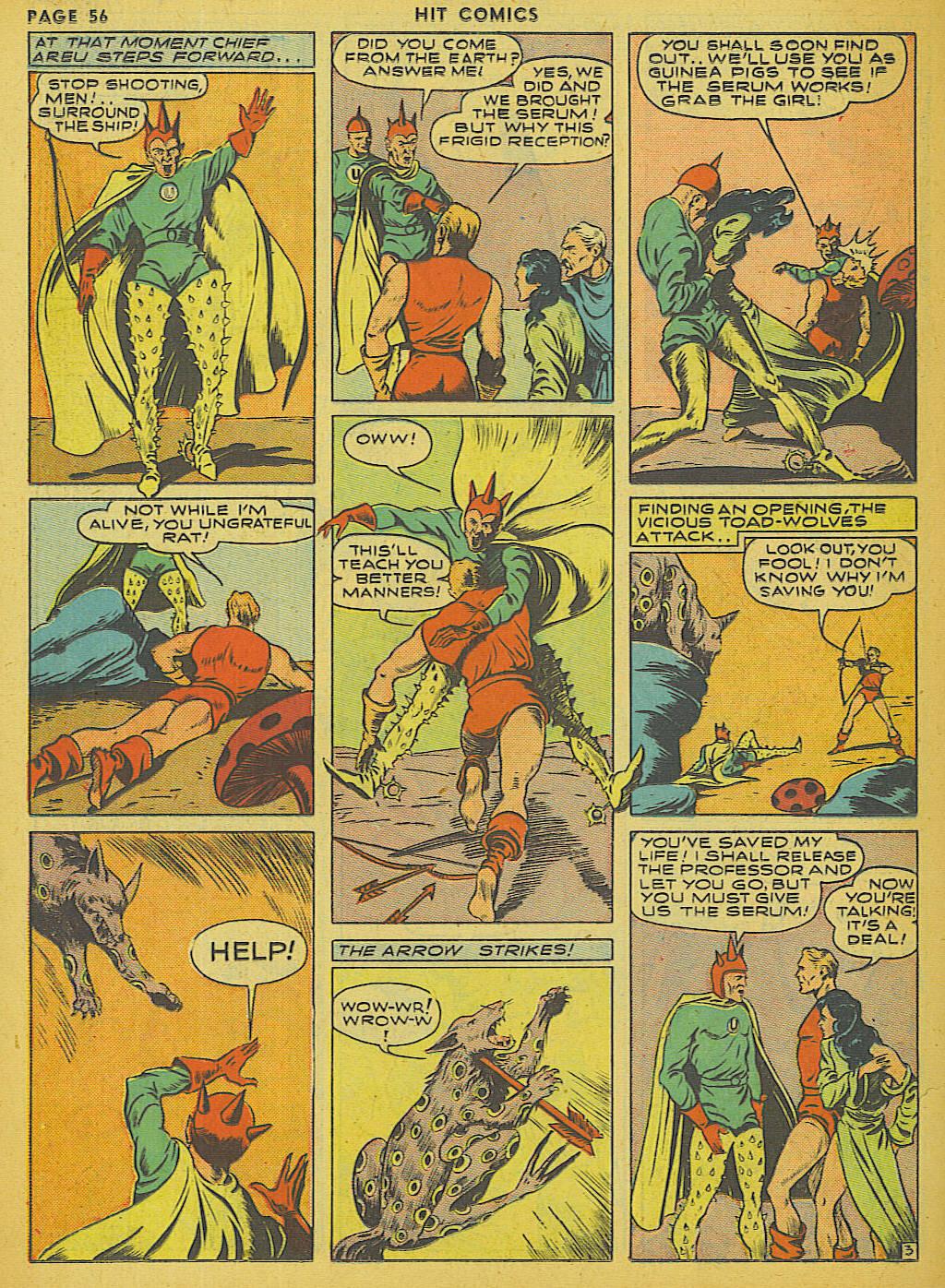 Read online Hit Comics comic -  Issue #13 - 58