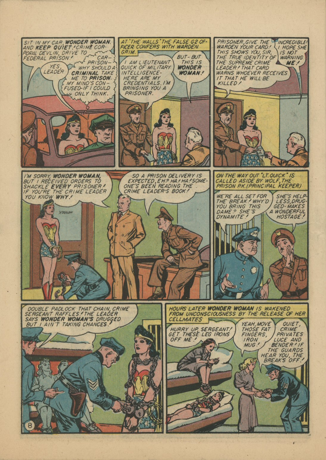 Read online Sensation (Mystery) Comics comic -  Issue #21 - 9