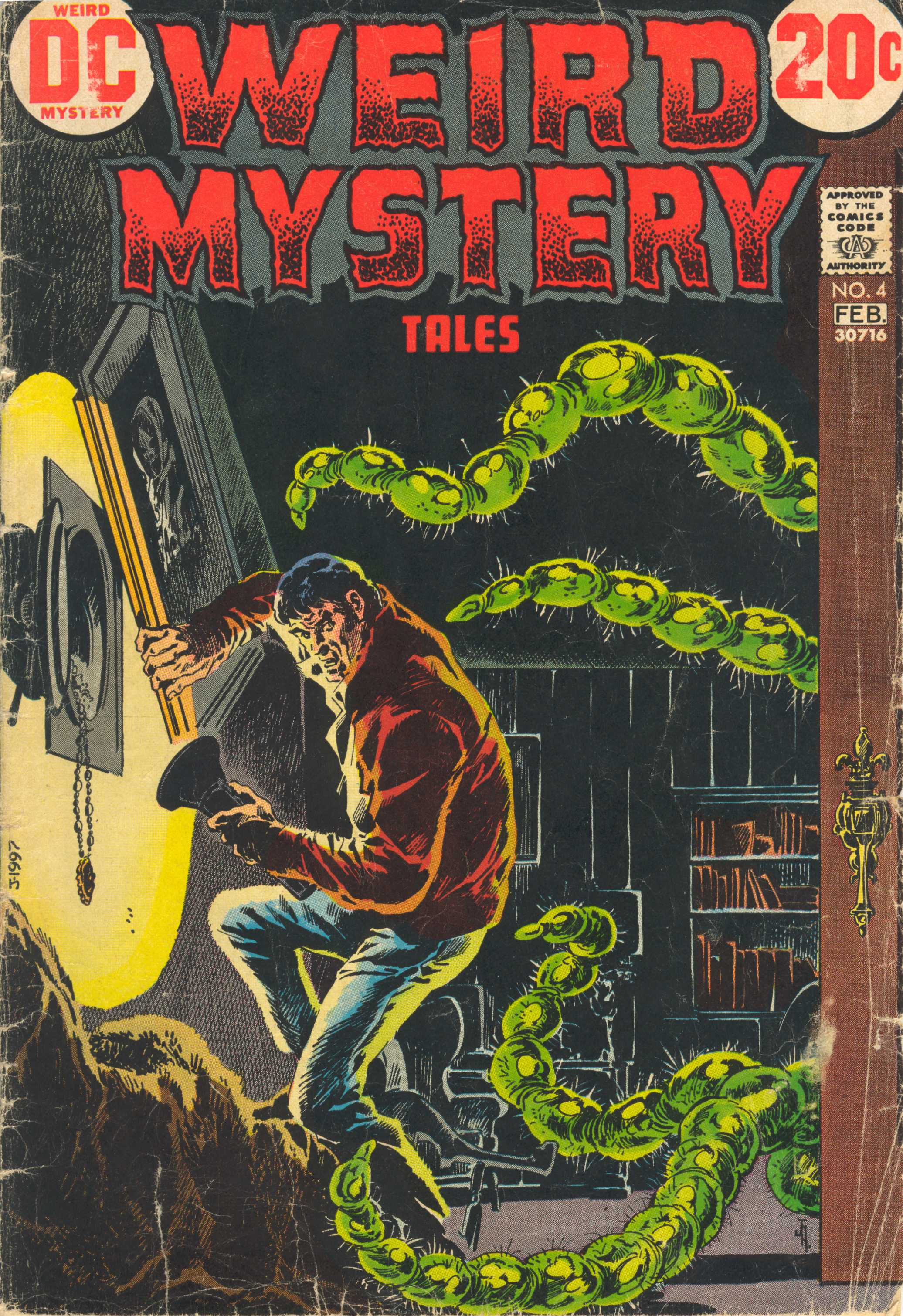 Weird Mystery Tales 4 Page 1