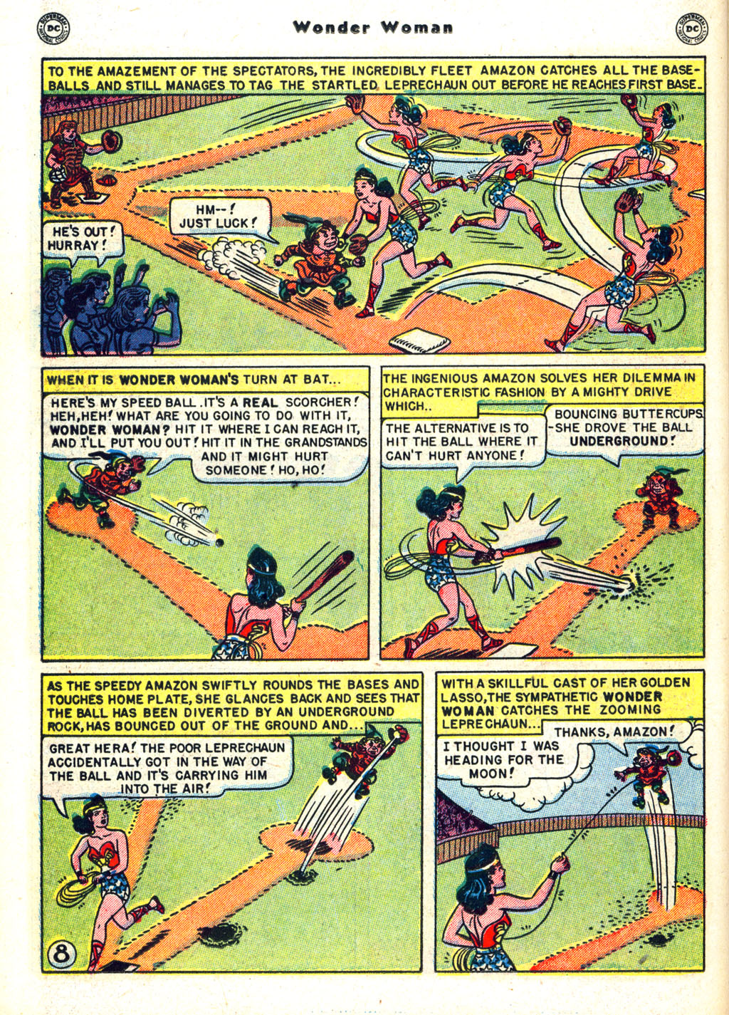 Read online Wonder Woman (1942) comic -  Issue #45 - 32