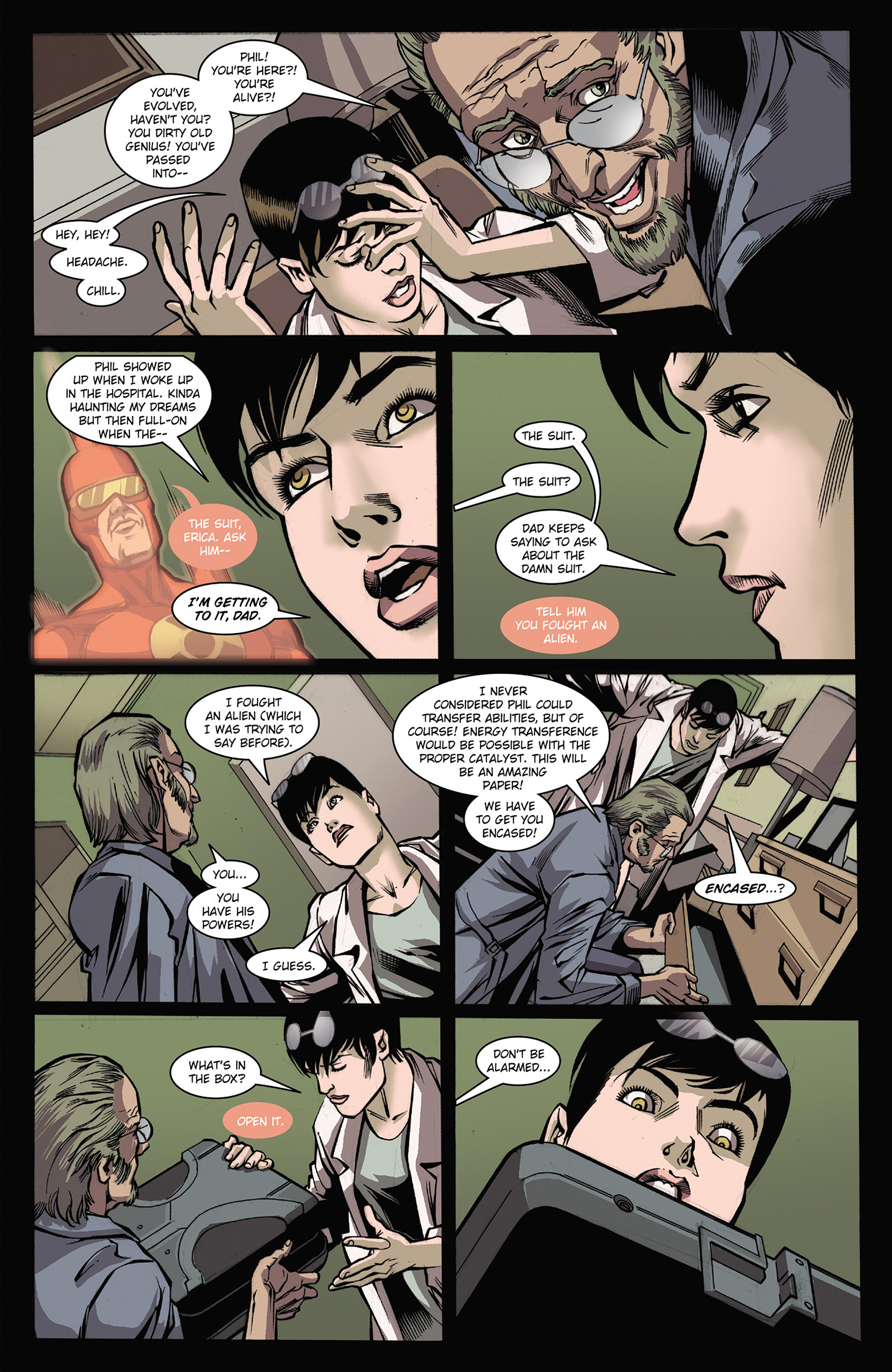 Read online Solar: Man of the Atom (2014) comic -  Issue #3 - 9