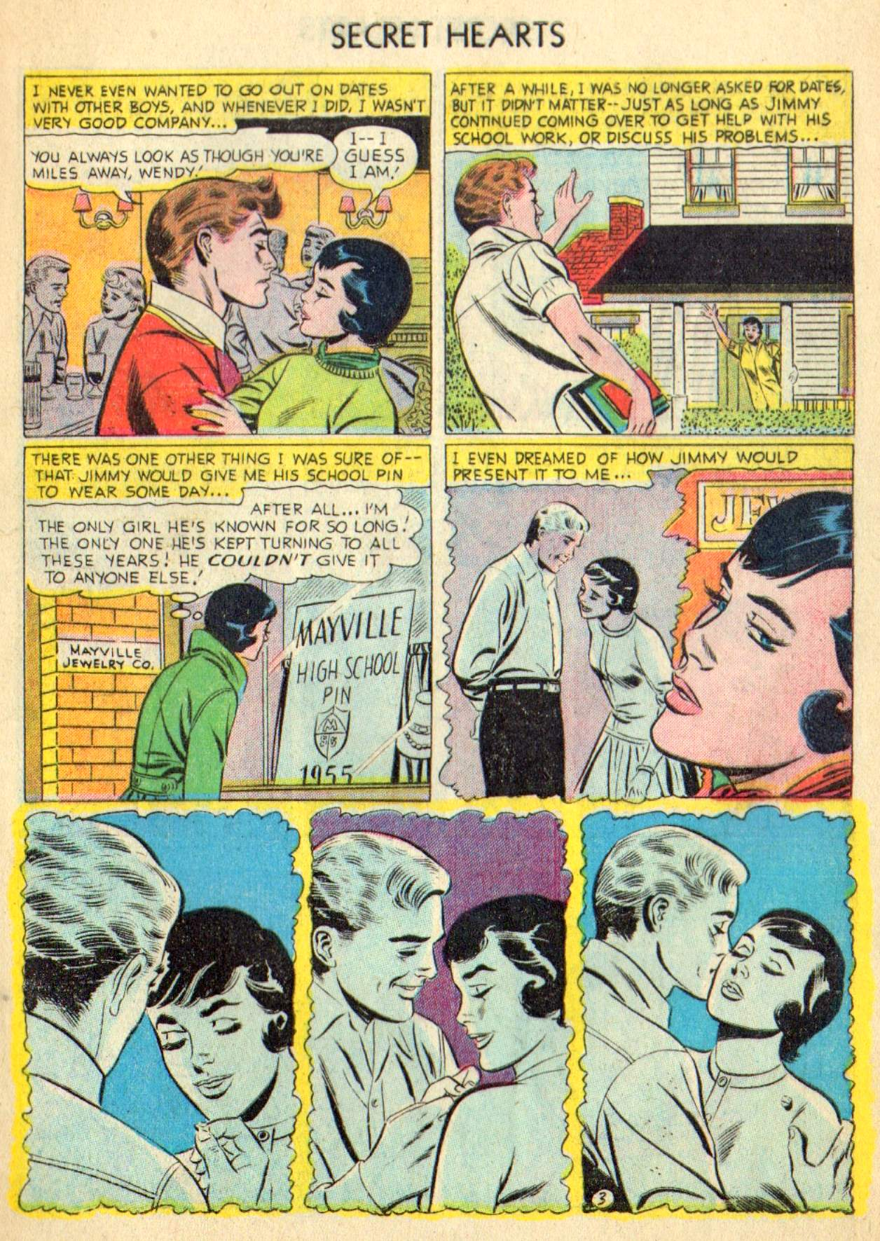 Read online Secret Hearts comic -  Issue #31 - 5