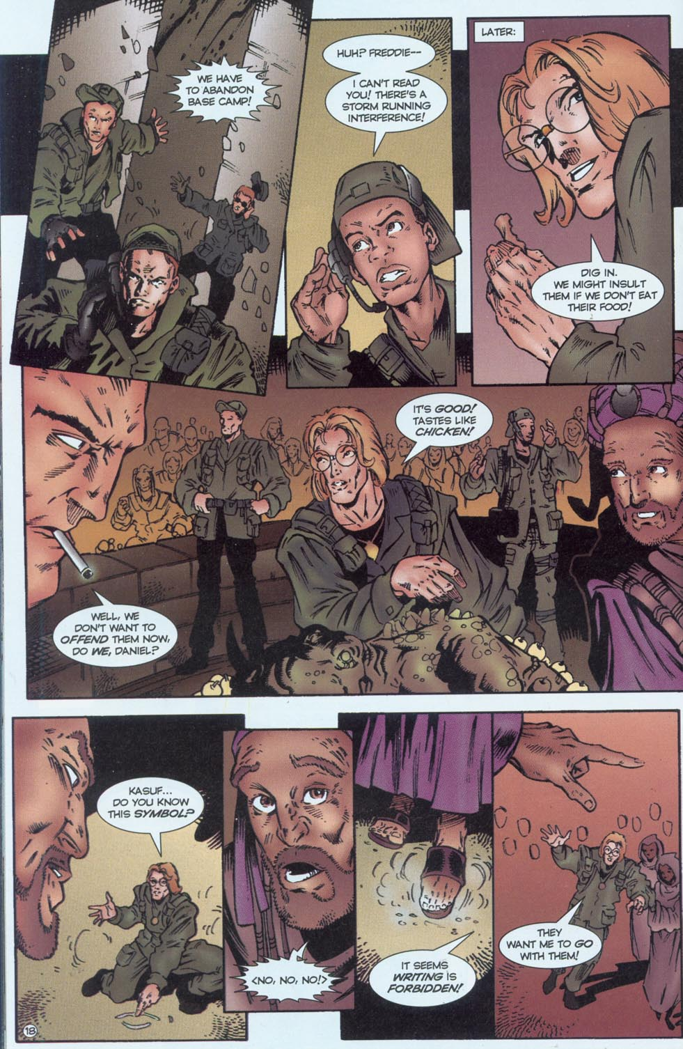 Read online Stargate comic -  Issue #1 - 20