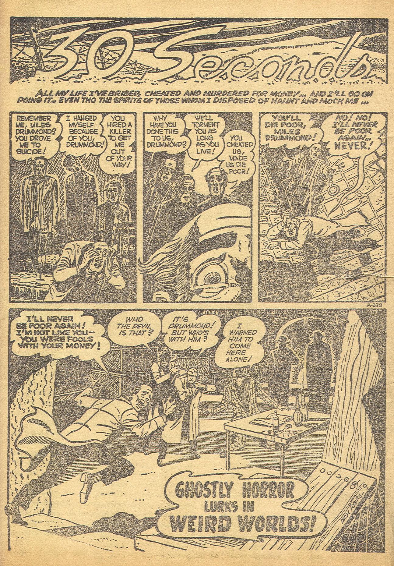 Read online Adventures into Weird Worlds comic -  Issue #8 - 7