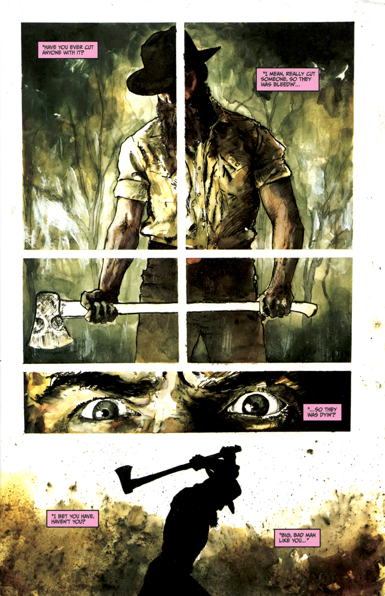 Read online Silent Hill: Past Life comic -  Issue #3 - 3