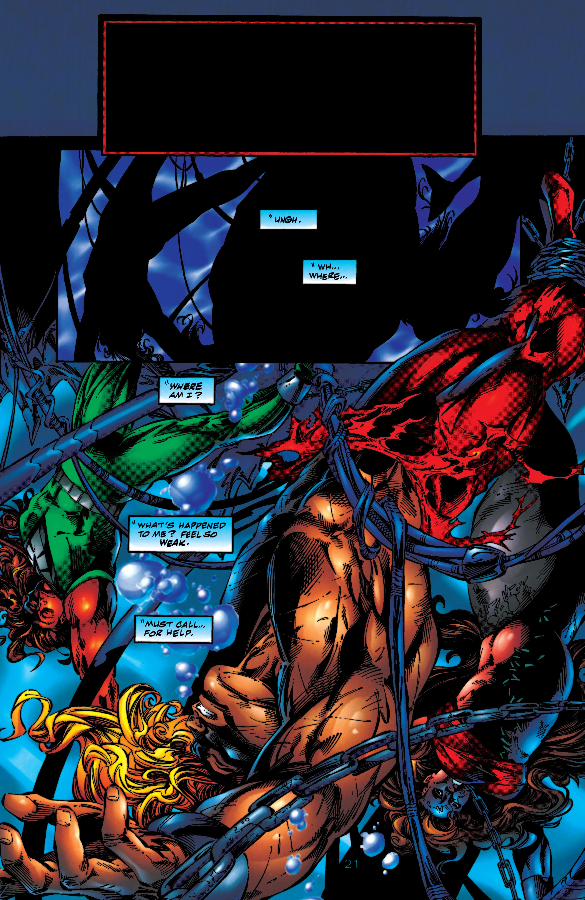 Read online Aquaman (1994) comic -  Issue #56 - 21