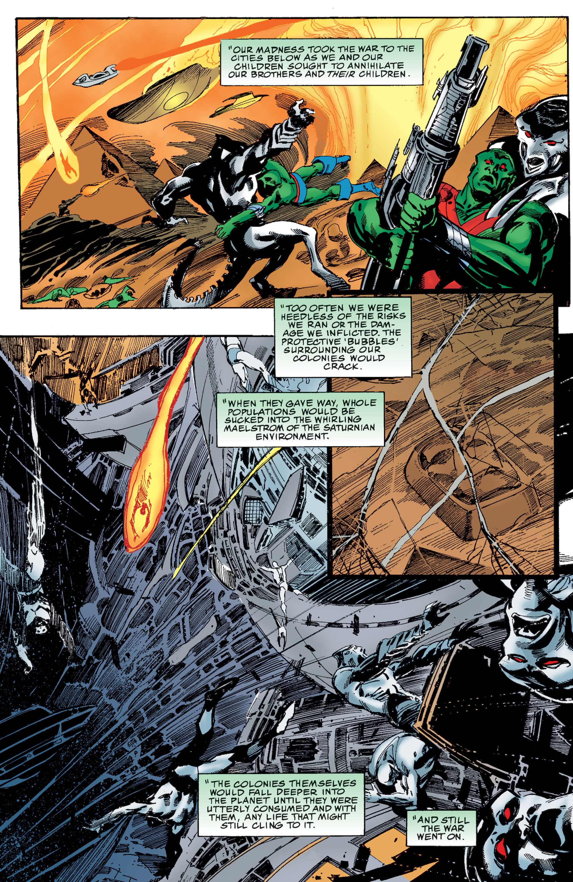 Read online Martian Manhunter: Son of Mars comic -  Issue # TPB - 110