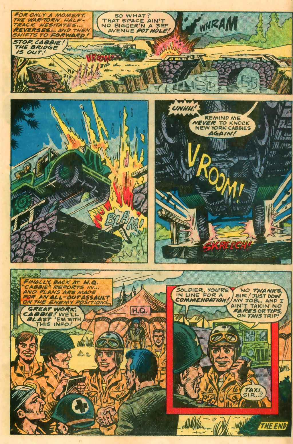 Read online Sgt. Rock comic -  Issue #374 - 30