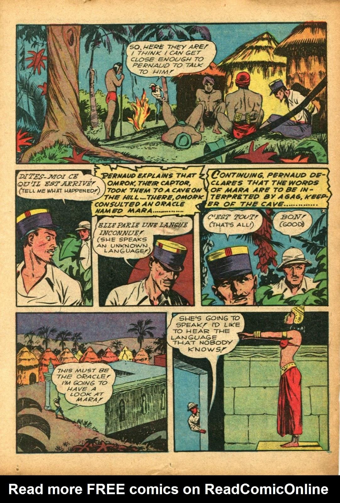 Read online Super-Magician Comics comic -  Issue #5 - 19