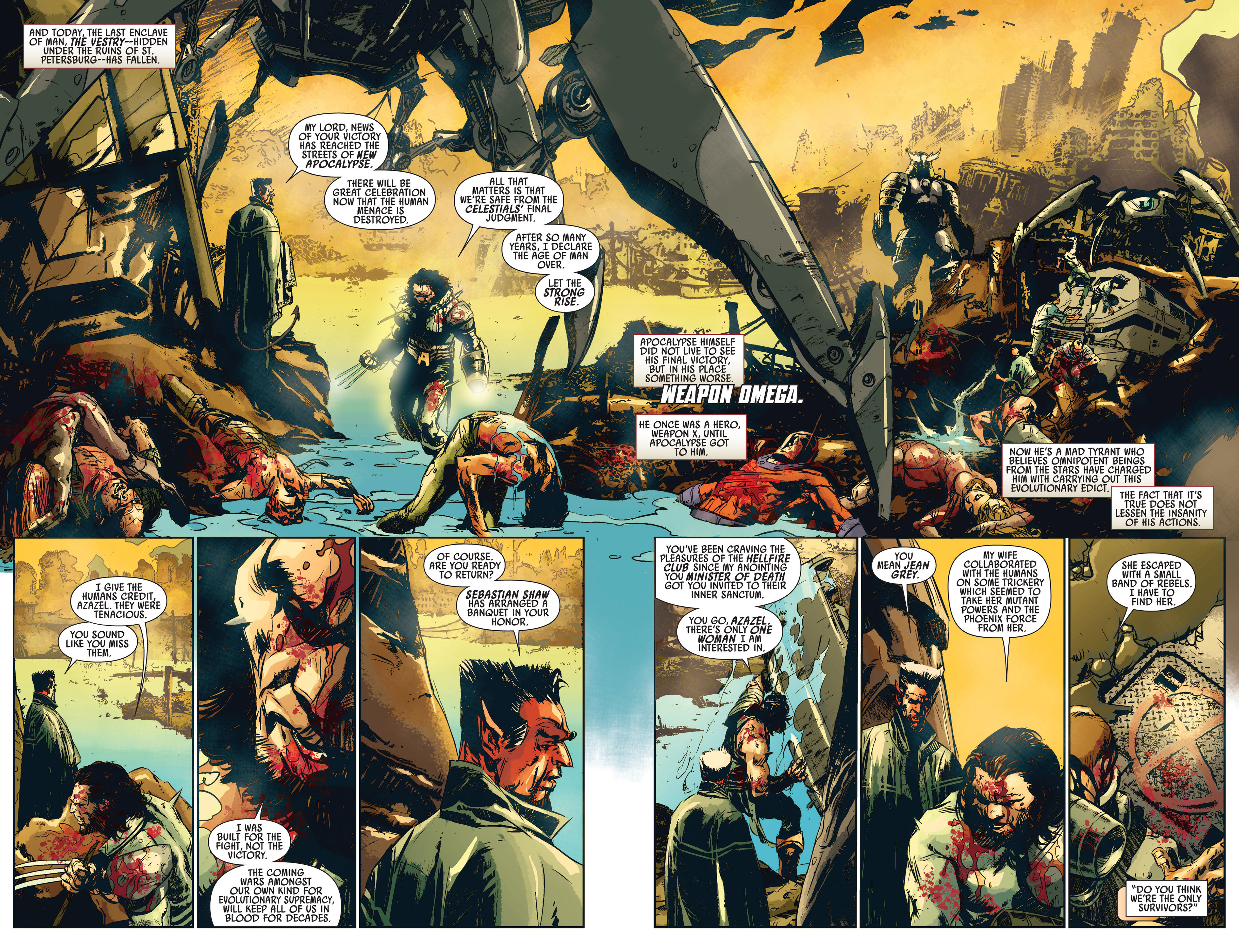 Read online Age of Apocalypse (2012) comic -  Issue #1 - 4