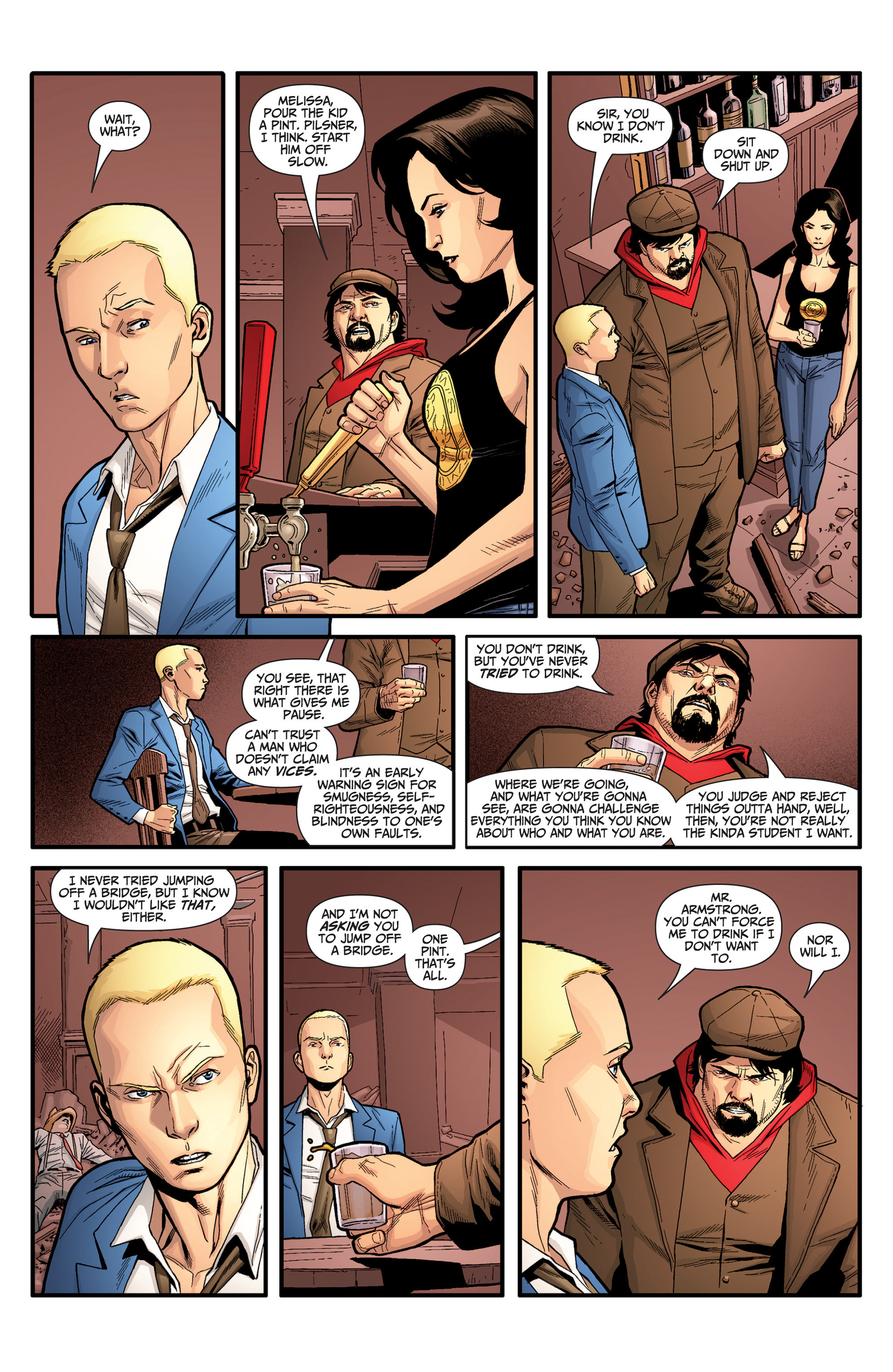 Read online Archer and Armstrong comic -  Issue #25 - 12