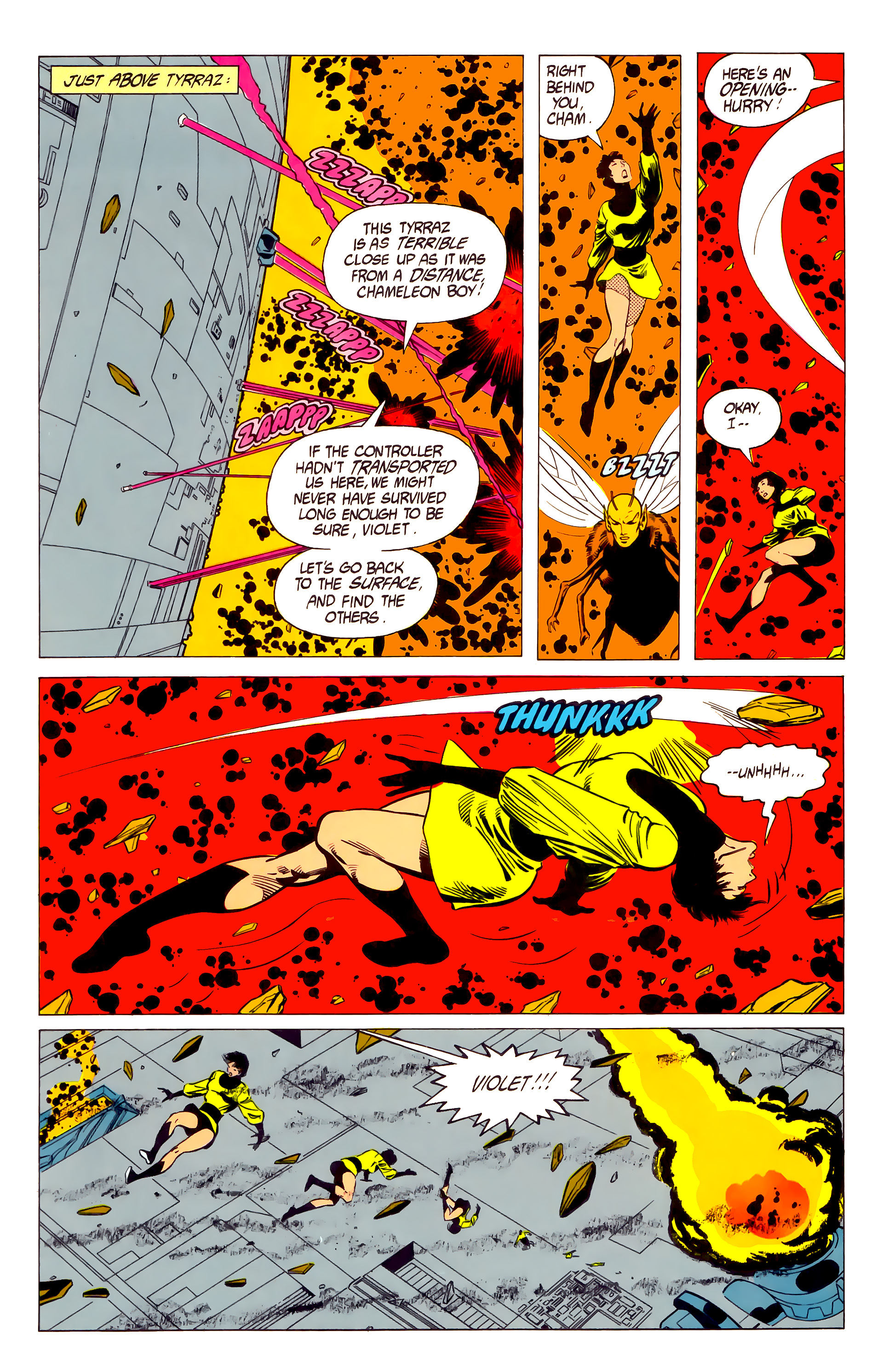 Legion of Super-Heroes (1984) 19 Page 16