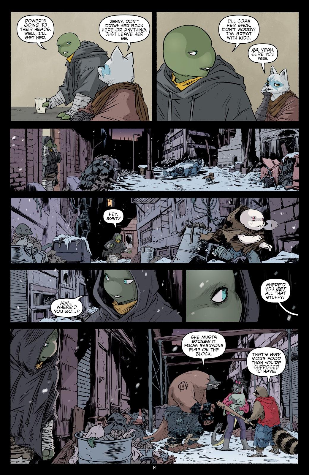 Read online Teenage Mutant Ninja Turtles (2011) comic -  Issue #101 - 16