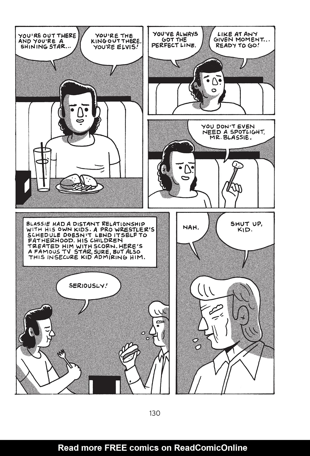 Read online Is This Guy For Real?: The Unbelievable Andy Kaufman comic -  Issue # TPB (Part 2) - 36