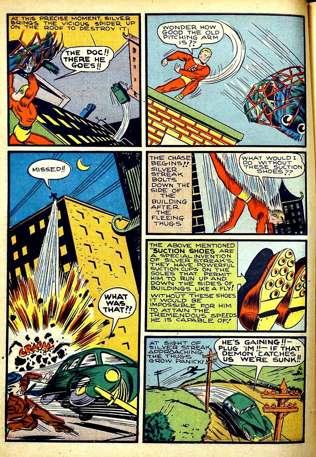 Read online Silver Streak Comics comic -  Issue #22 - 10