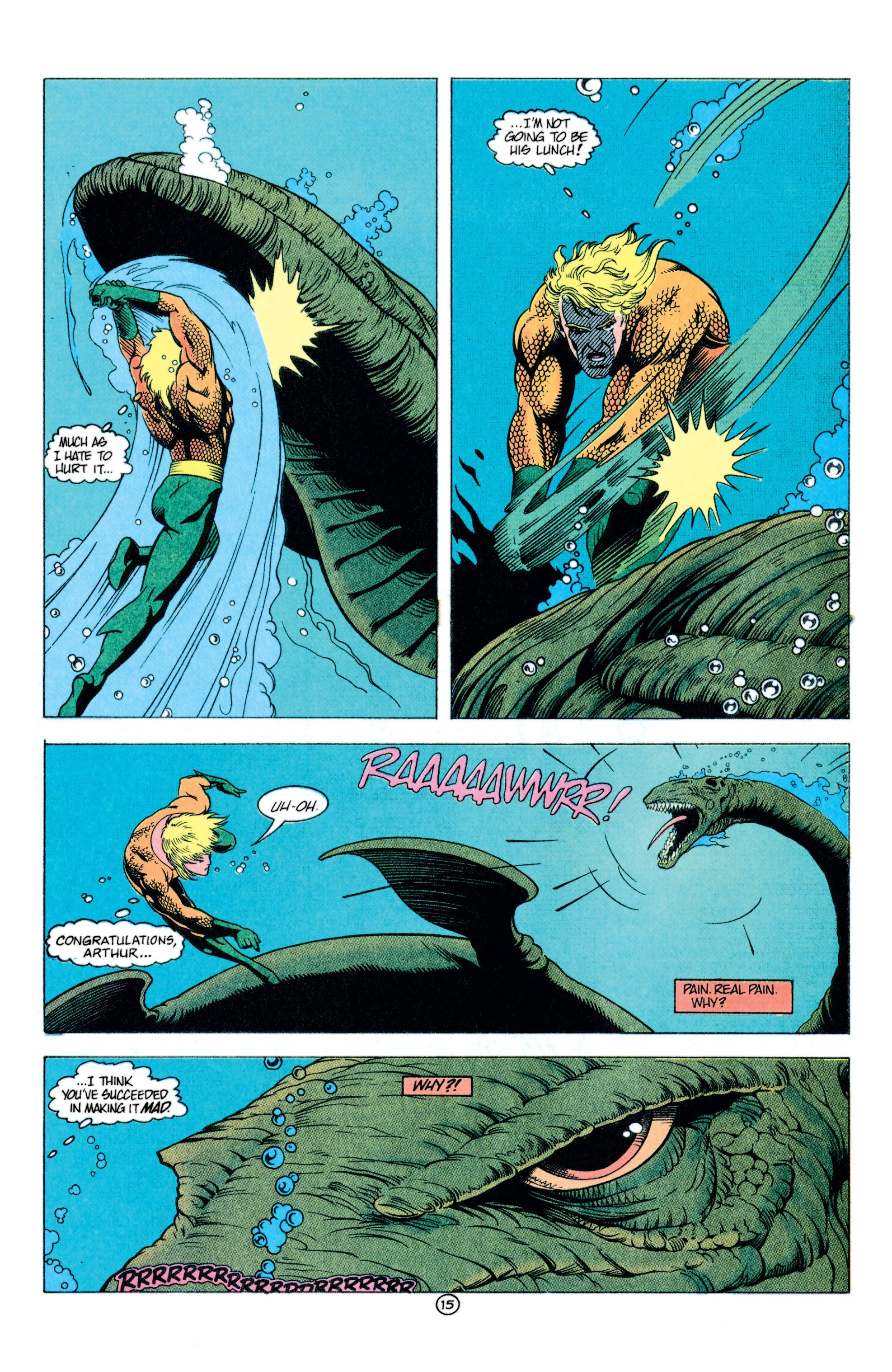Read online Aquaman (1991) comic -  Issue #11 - 16
