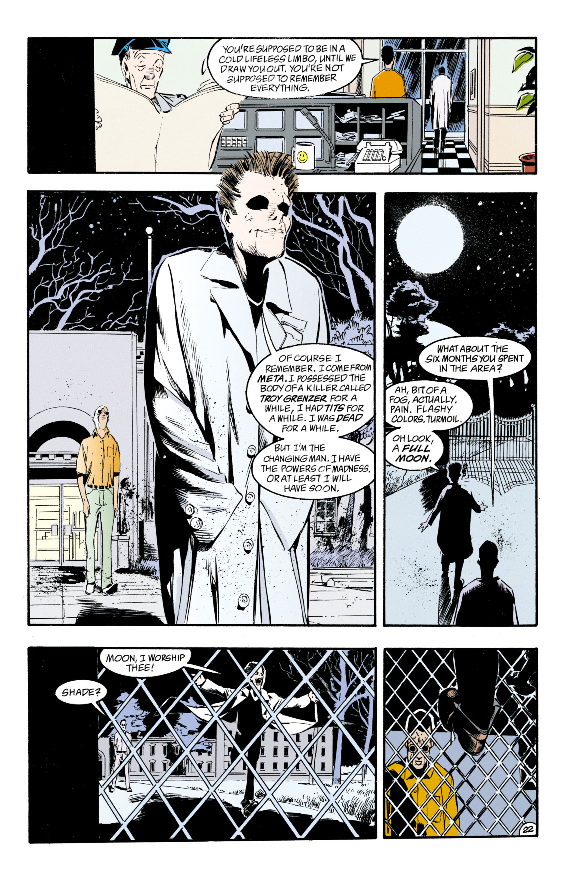 Read online Shade, the Changing Man comic -  Issue #33 - 23