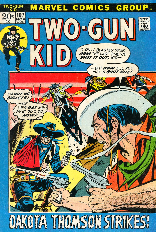 Read online Two-Gun Kid comic -  Issue #107 - 1