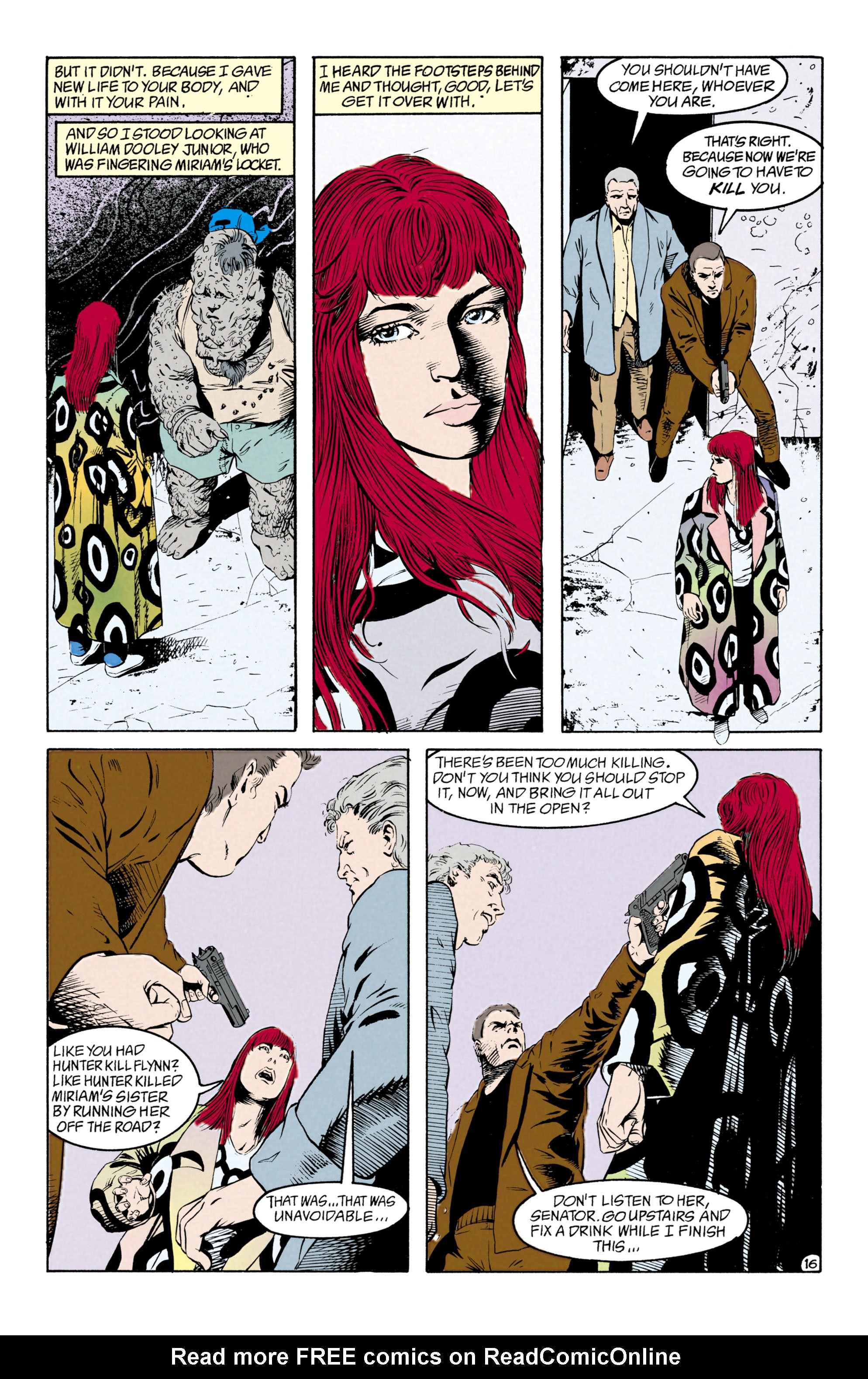 Read online Shade, the Changing Man comic -  Issue #29 - 17