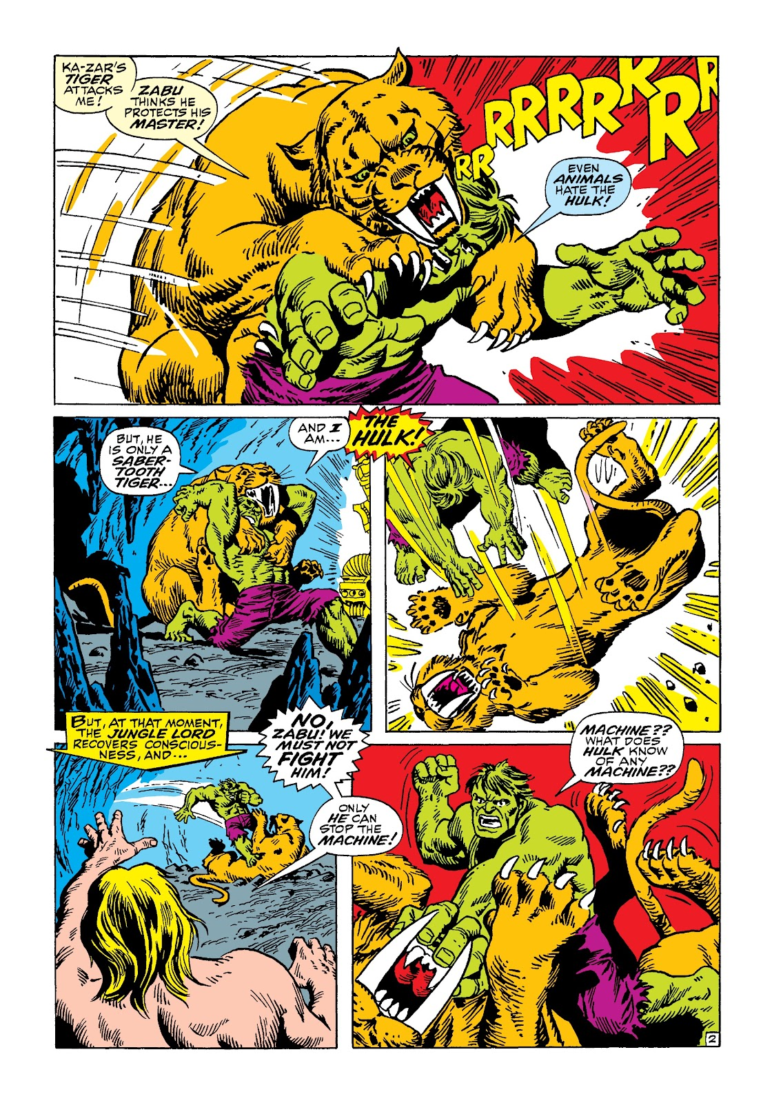 Read online Marvel Masterworks: The Incredible Hulk comic -  Issue # TPB 4 (Part 3) - 9