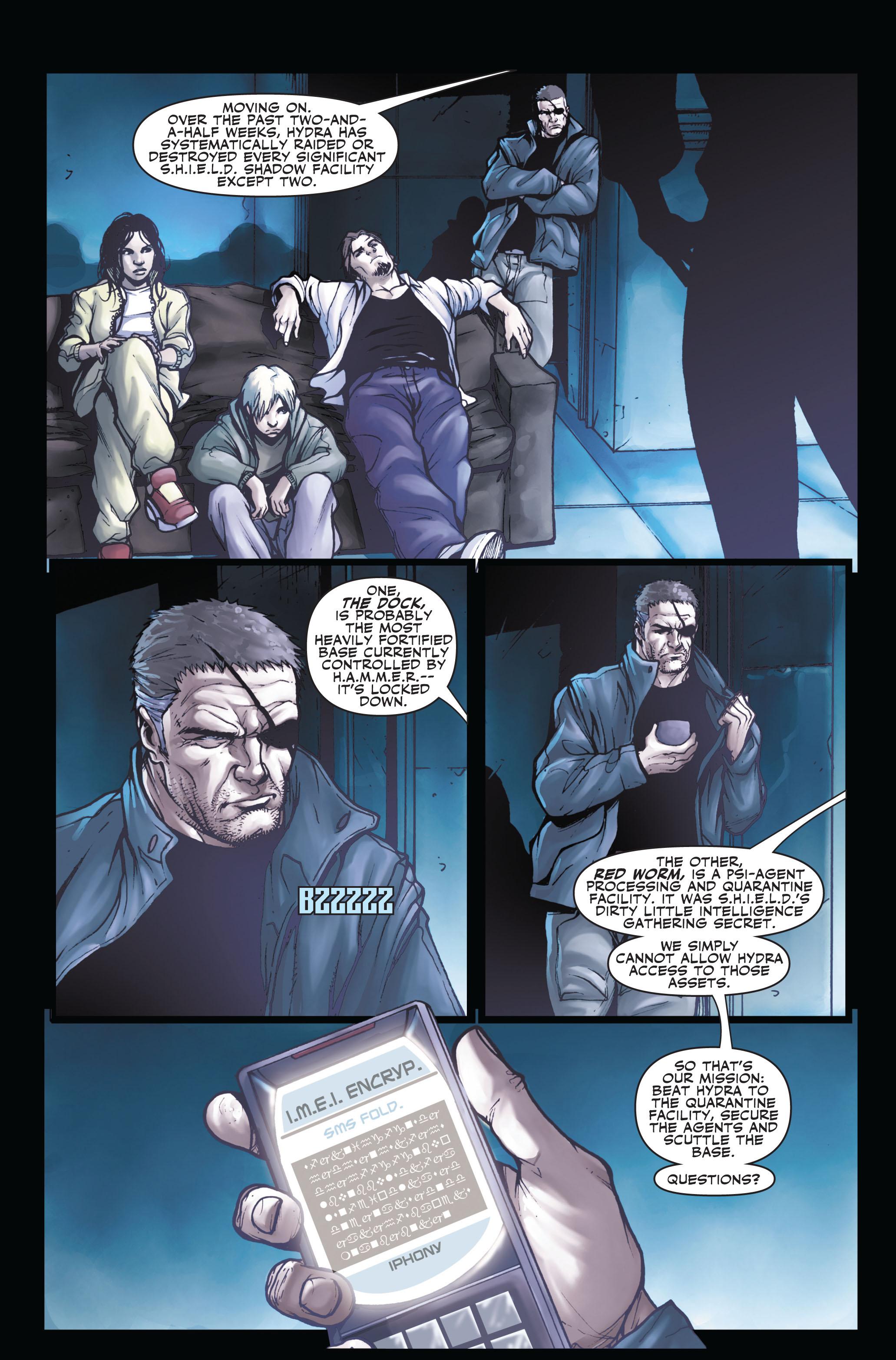 Read online Secret Warriors comic -  Issue #3 - 6