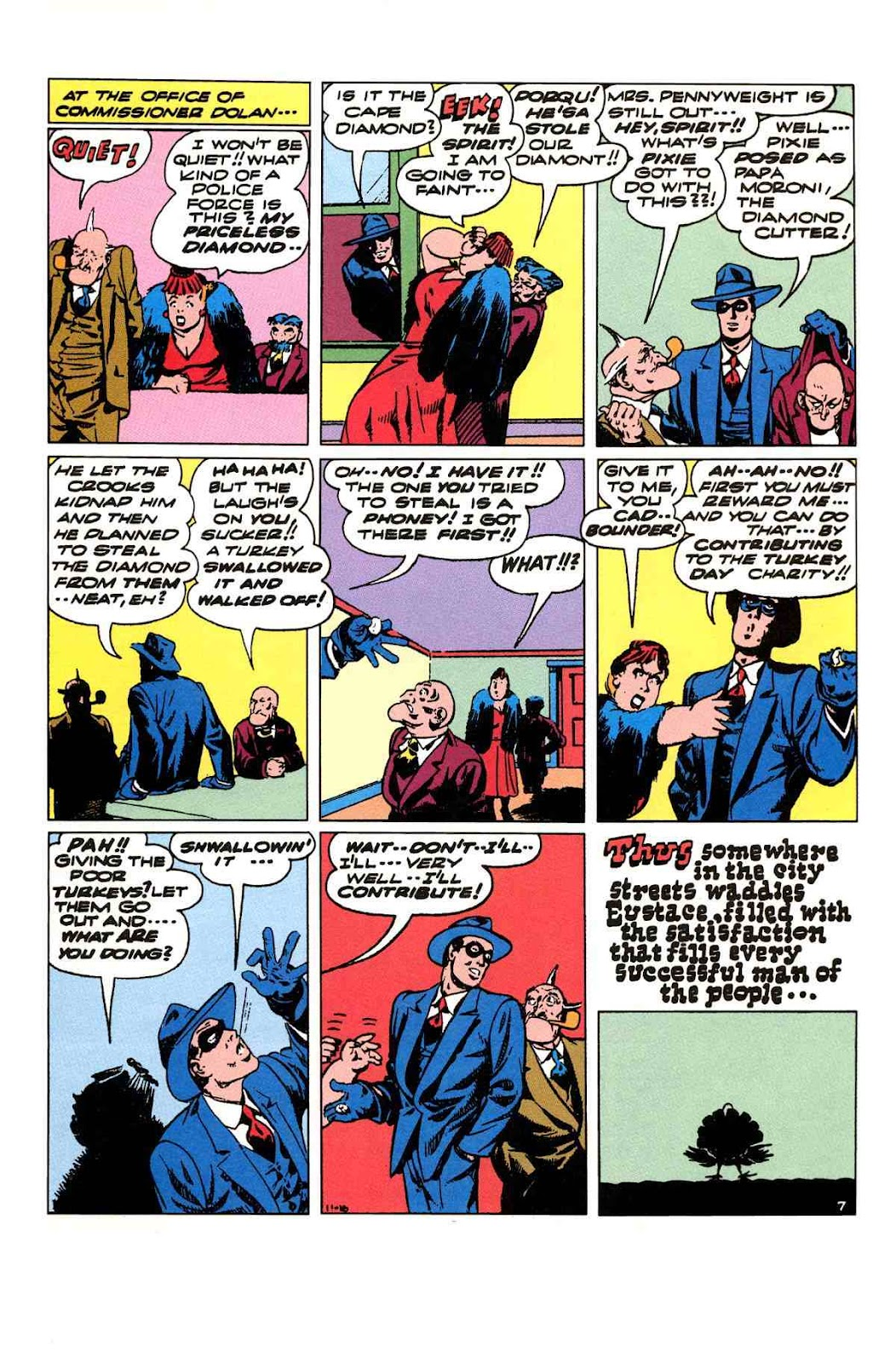Read online Will Eisner's The Spirit Archives comic -  Issue # TPB 3 (Part 2) - 60