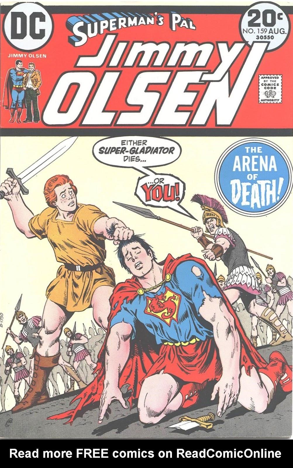 Supermans Pal Jimmy Olsen (1954) 159 Page 1