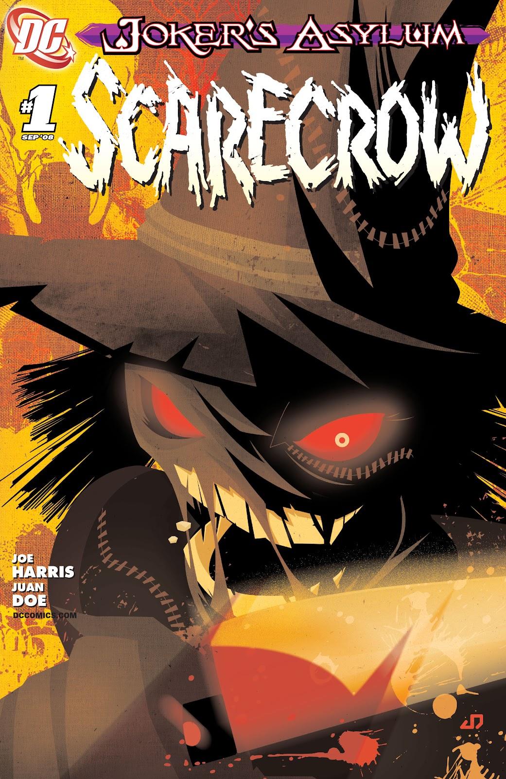 Joker's Asylum: Scarecrow issue Full - Page 1