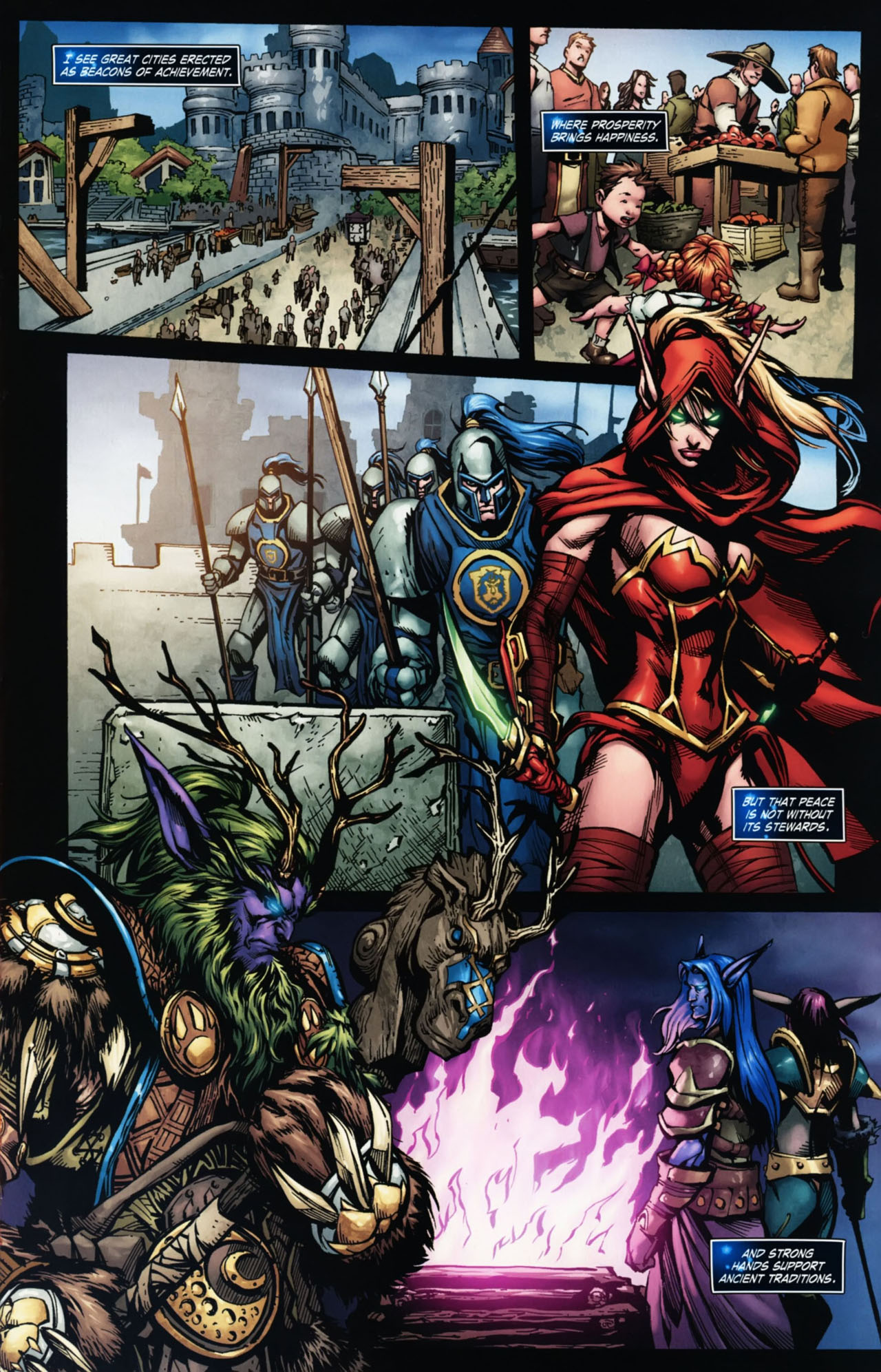Read online World of Warcraft Special comic -  Issue # Full - 8