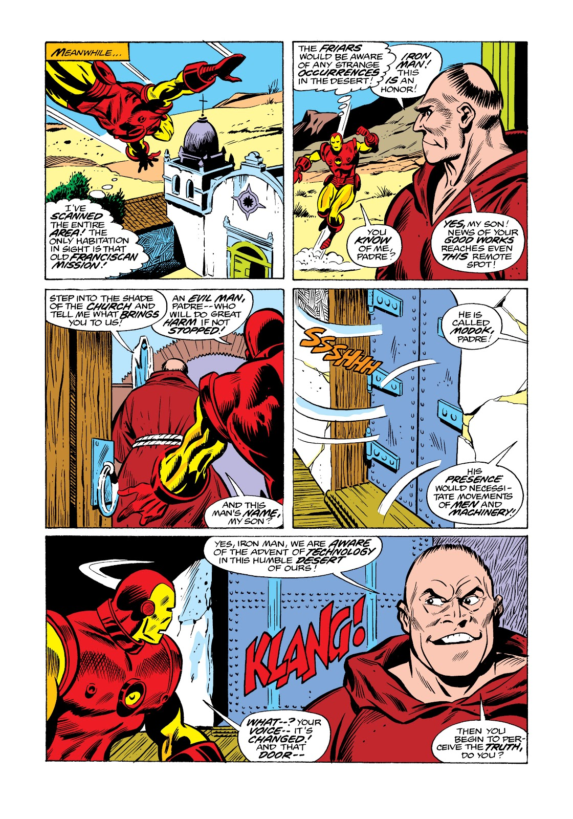 Read online Marvel Masterworks: The Invincible Iron Man comic -  Issue # TPB 11 (Part 3) - 103