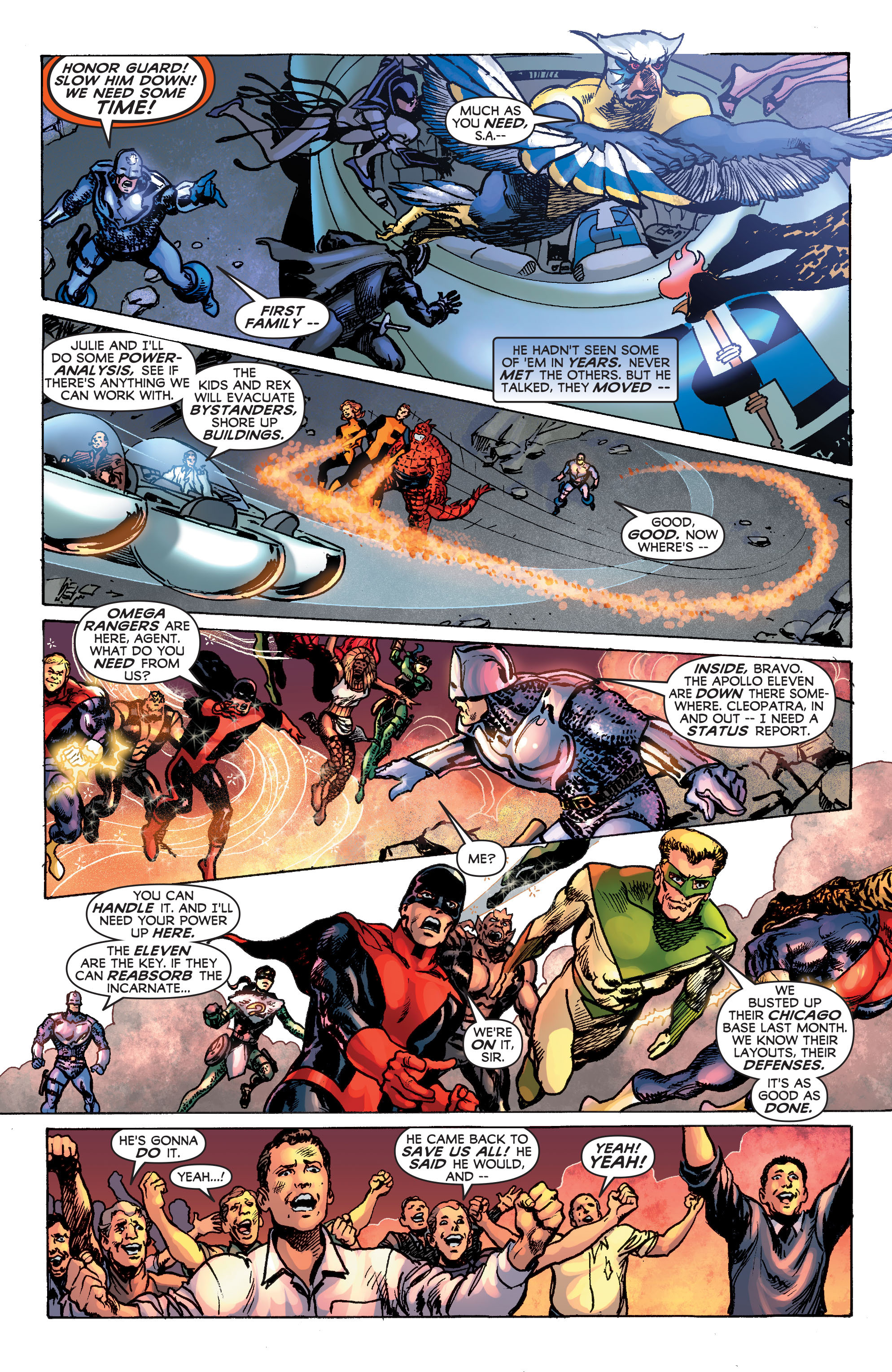 Read online Astro City: Dark Age/Book Three comic -  Issue #4 - 6