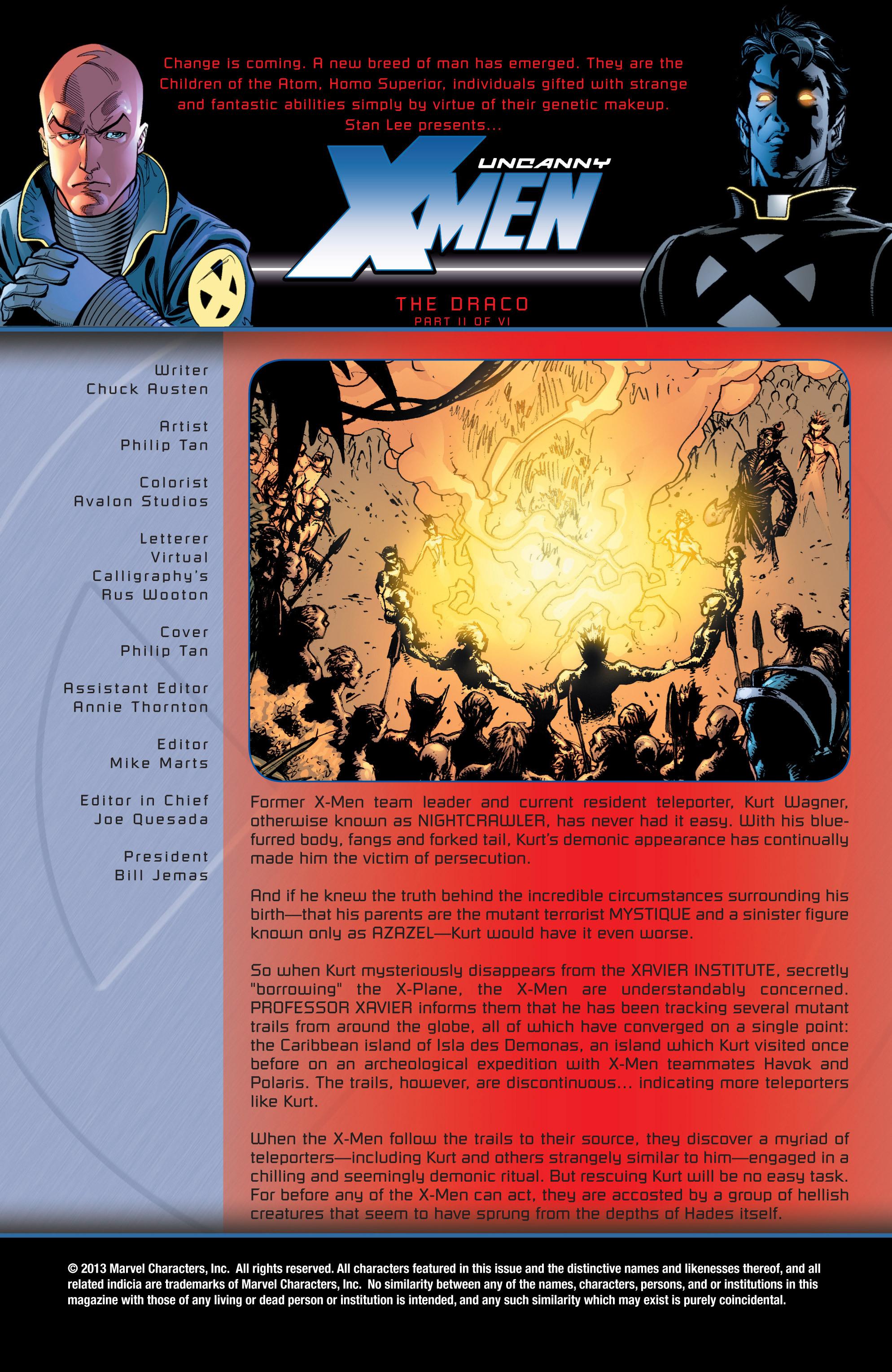 Read online Uncanny X-Men (1963) comic -  Issue #430 - 2
