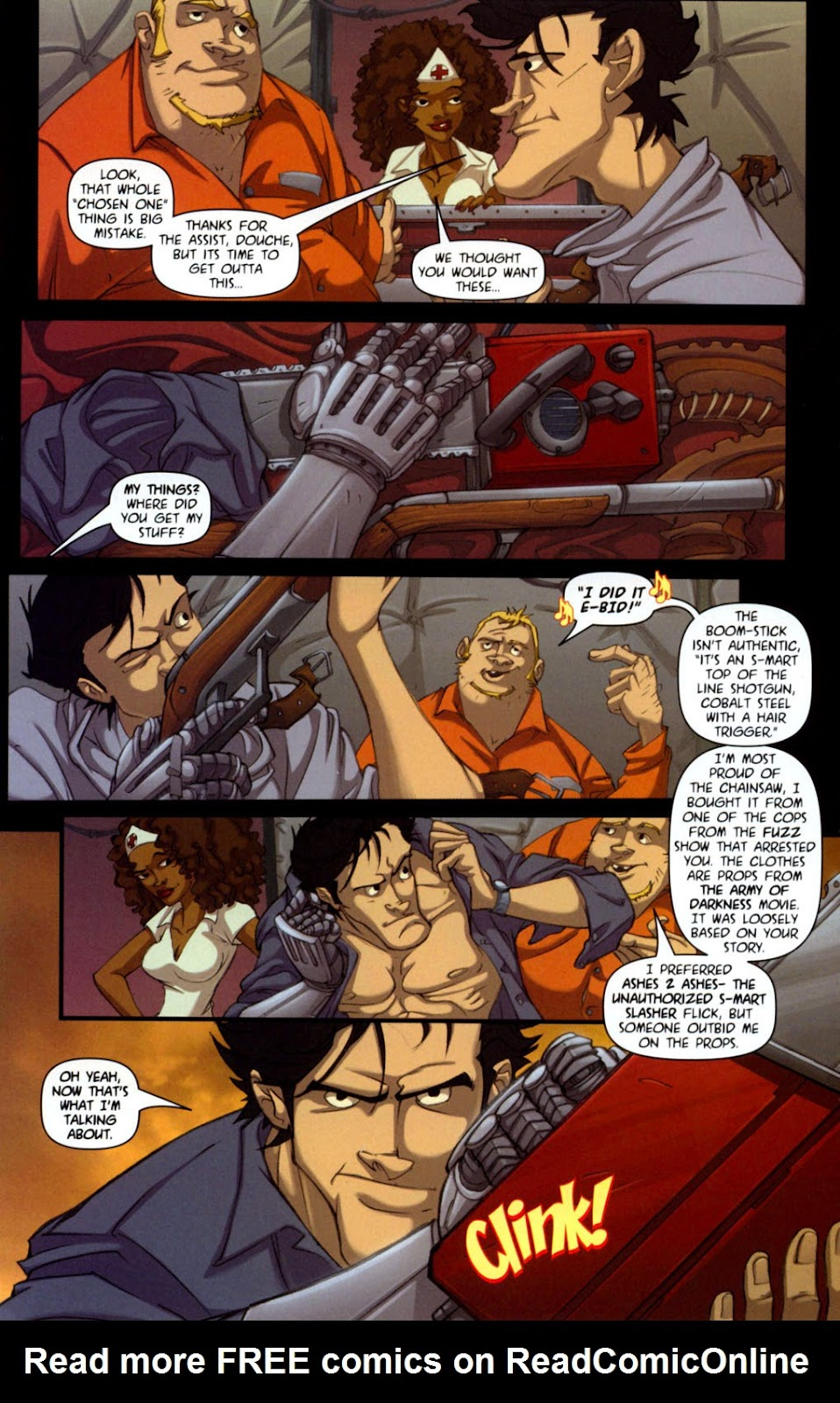Army of Darkness vs. Re-Animator Issue #1 #1 - English 19